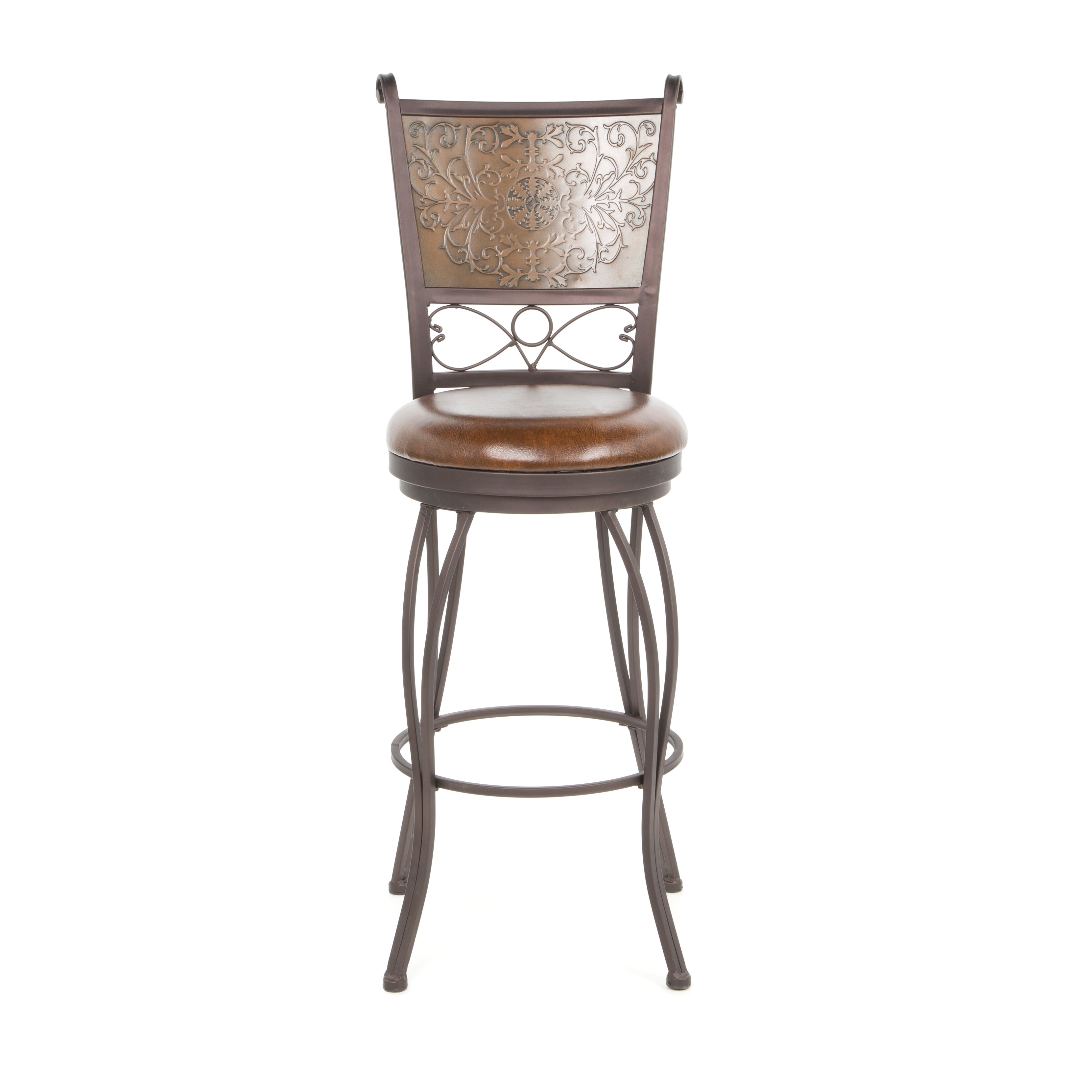 Powell 30 Quot Swivel Bar Stool Amp Reviews Wayfair