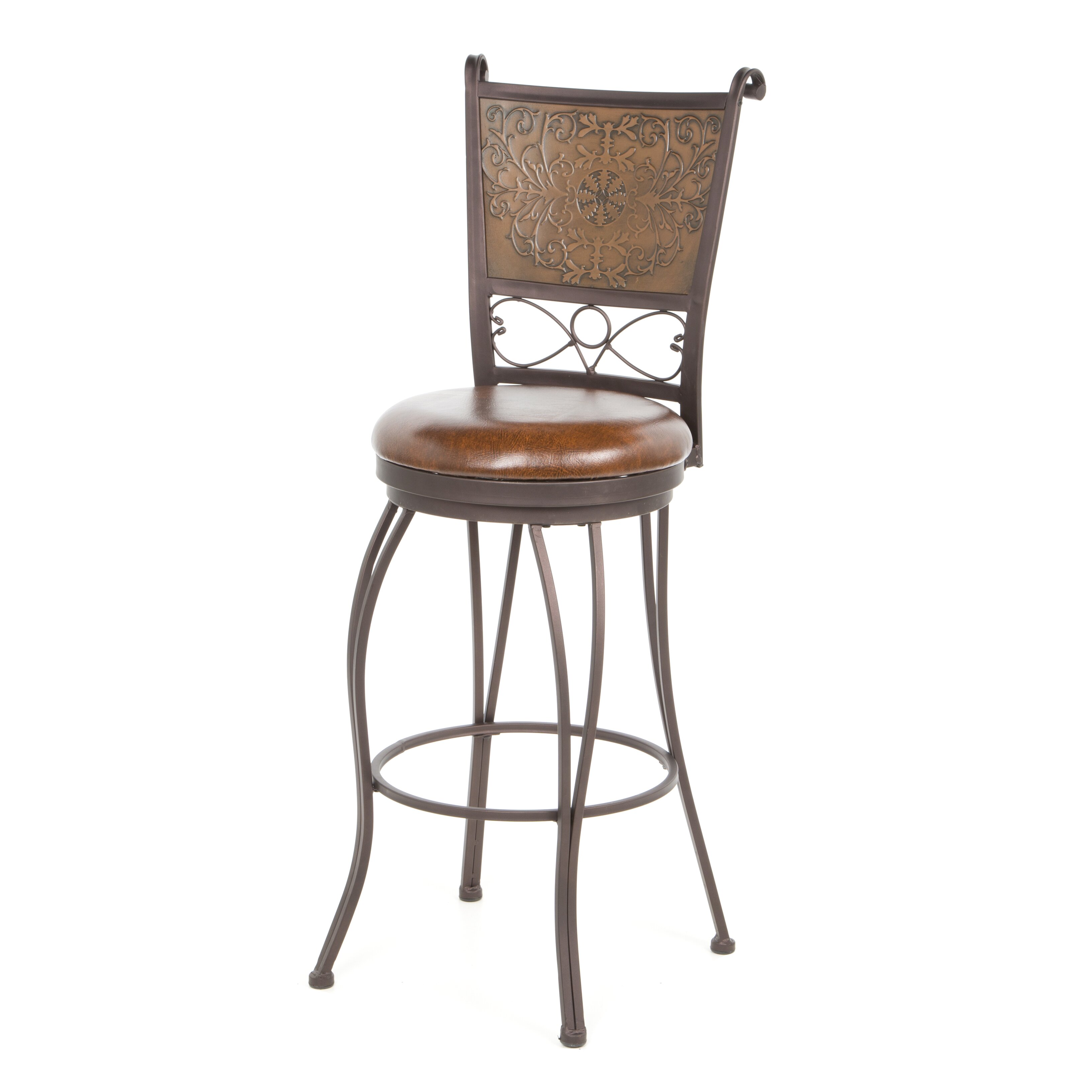 Powell 30 swivel bar stool reviews wayfair for Furniture 2 day shipping