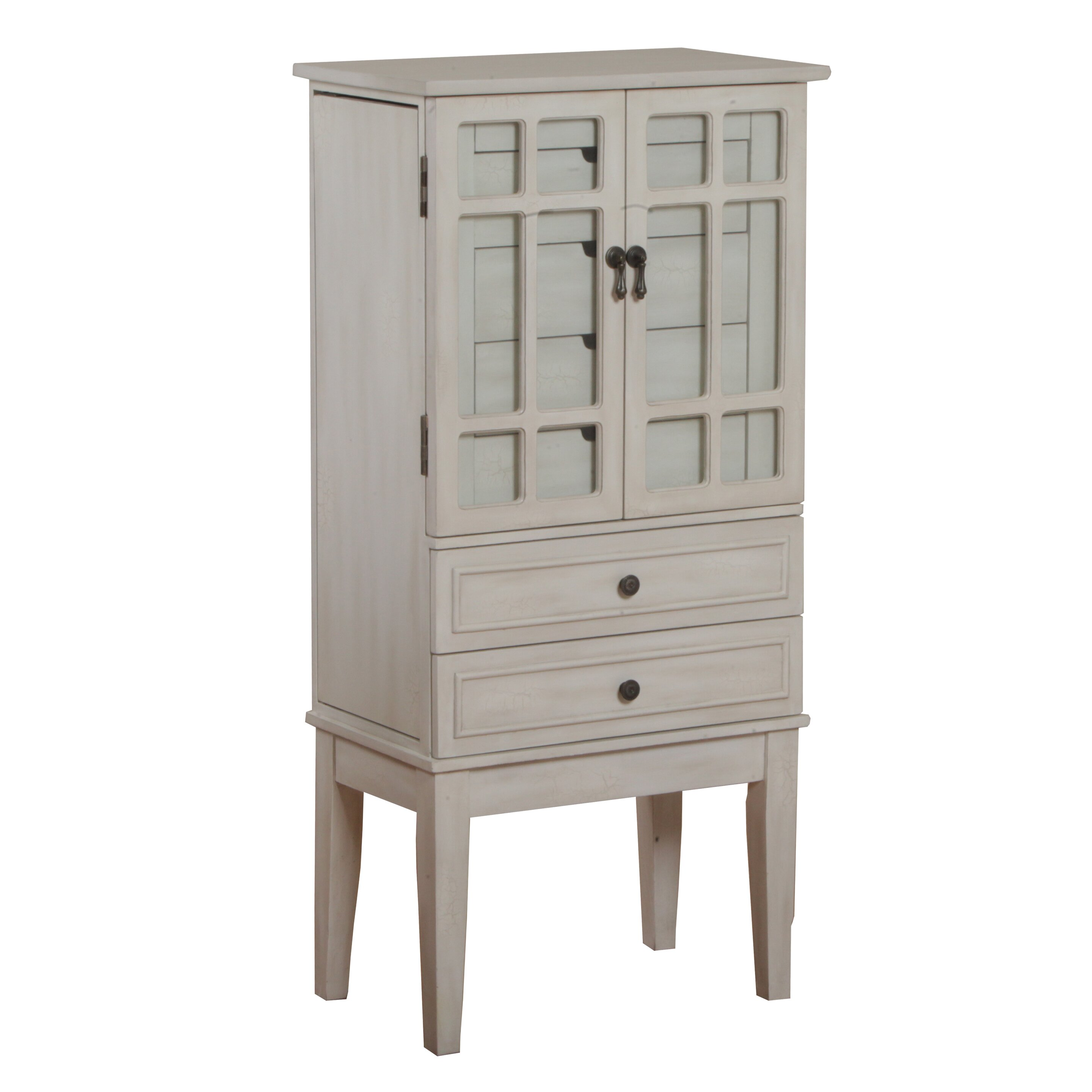 Powell Jewelry Armoire With Mirror Reviews Wayfair
