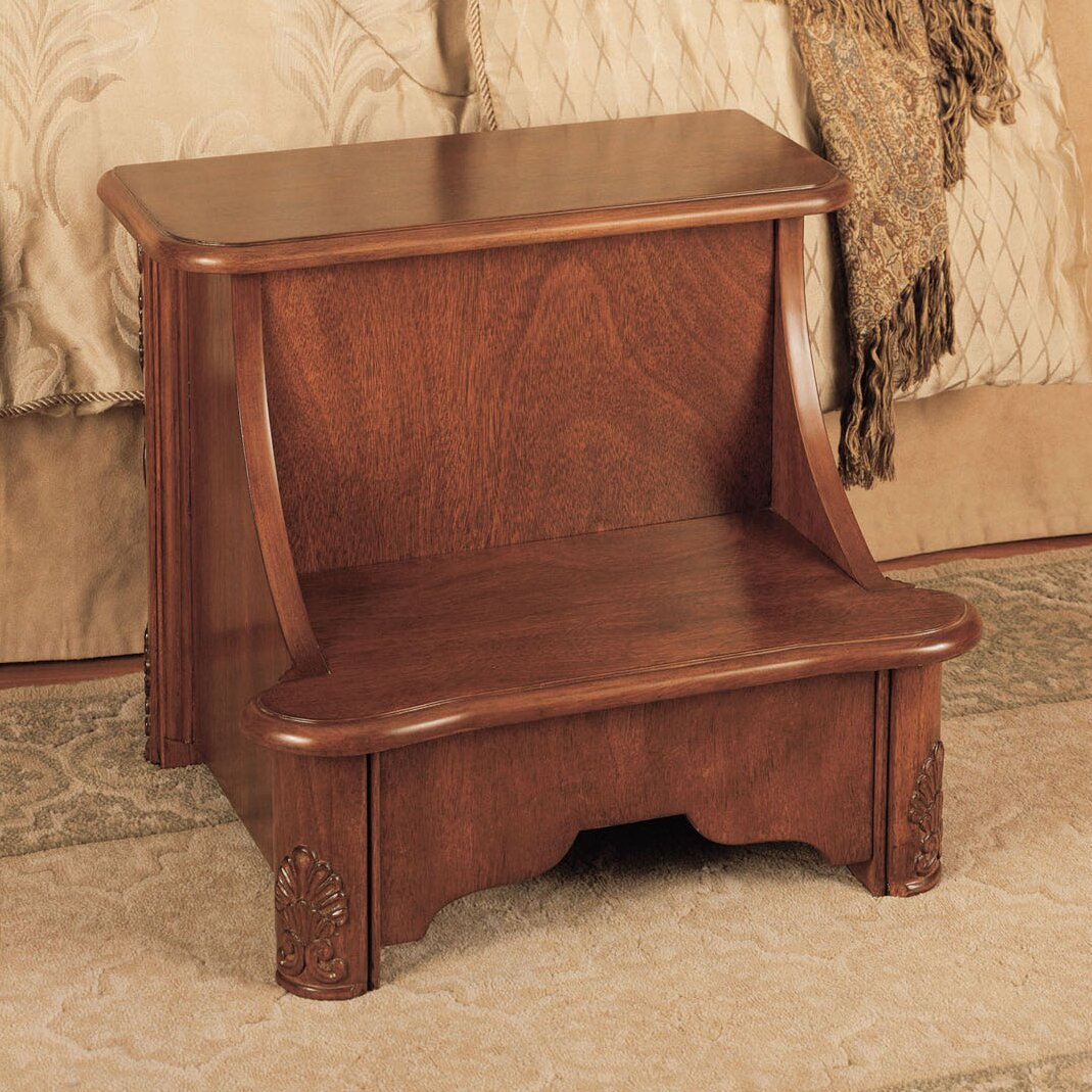 Powell Woodbury Mahogany 2 Step Manufactured Wood Bed Step