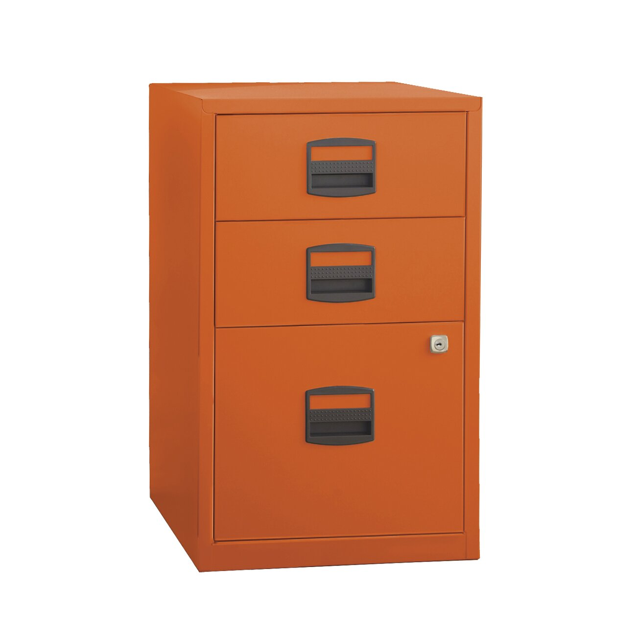 Bindertek 3 drawer steel home or office filing cabinet reviews wayfair - Types of file cabinets for a home office ...