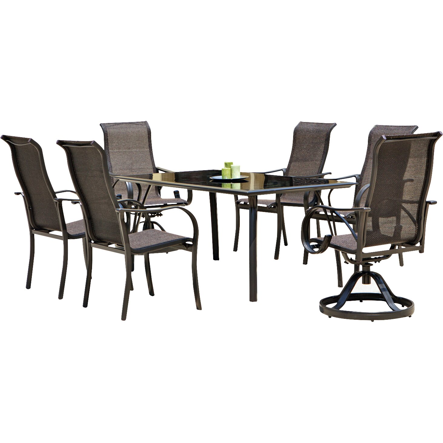 Ultimate Accents Urban 7 Piece Dining Set Reviews: Mission Hills Coronado 7 Piece Dining Set & Reviews