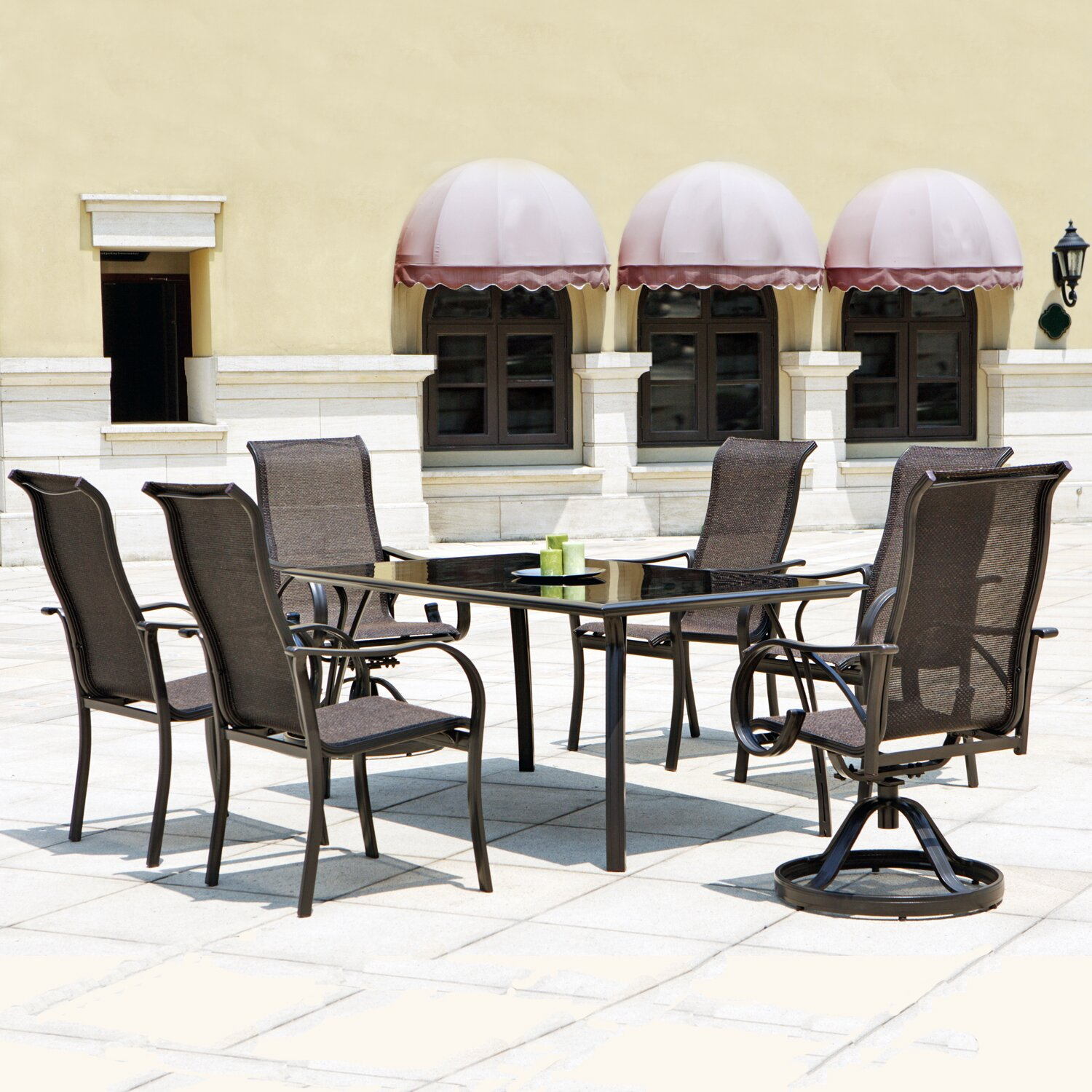 Mission hills coronado 7 piece dining set reviews wayfair for 7 piece dining set