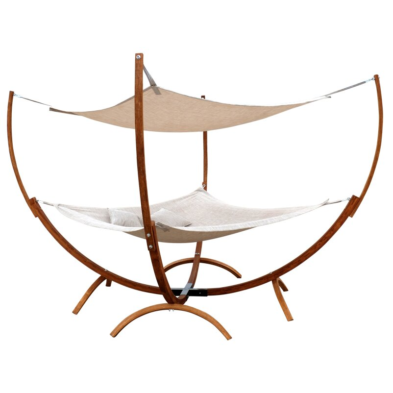 Outdoor patio furniture hammocks with stands leisure season sku