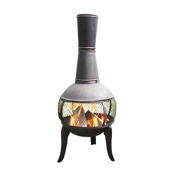 California Pizza Kitchen Thousand Oaks: Deeco Tuscan Glo Chiminea & Reviews