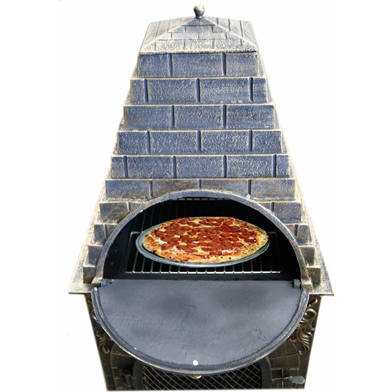 Deeco Aztec Allure Pizza Oven Outdoor Fireplace Reviews Wayfair