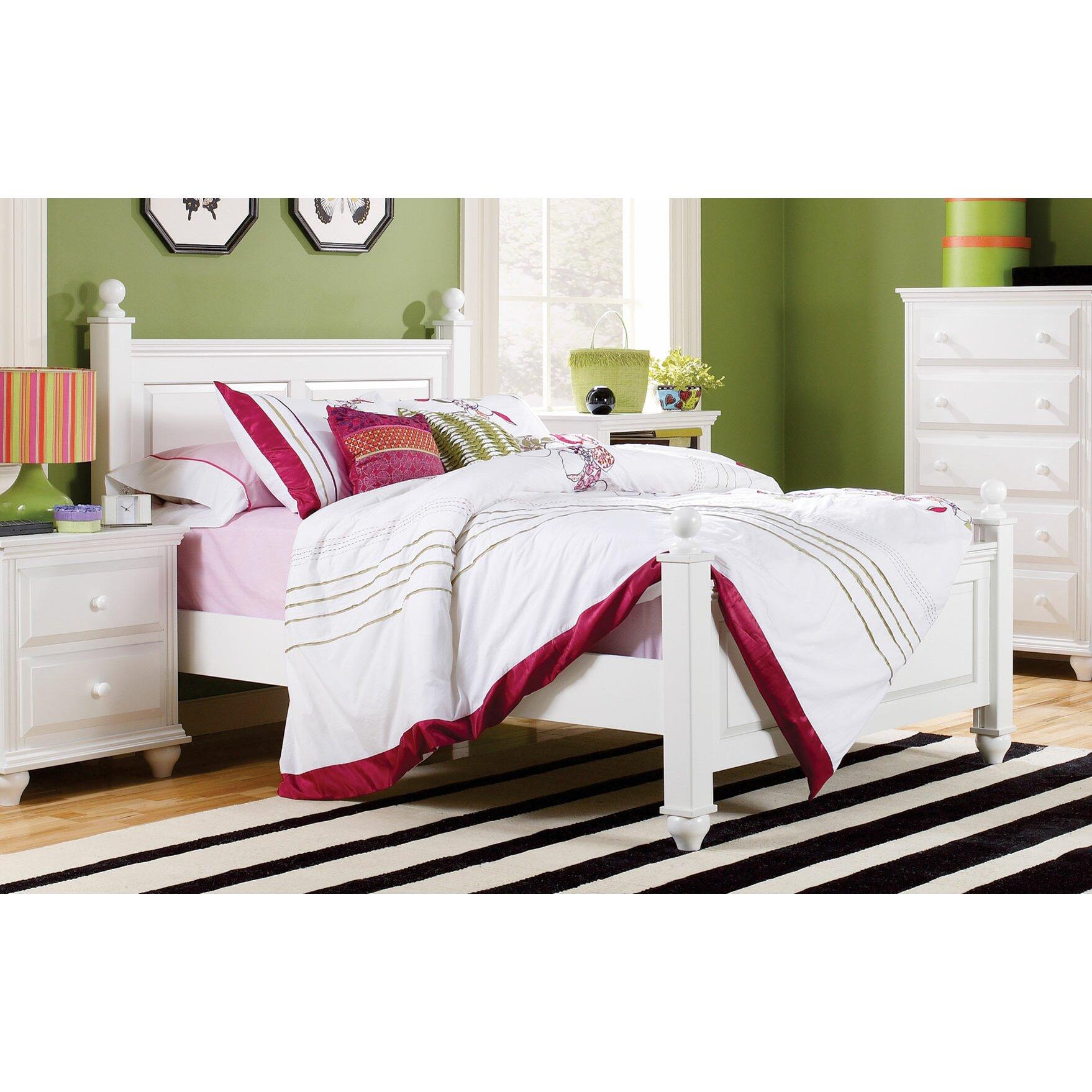 Lang Furniture Madison Storage Panel Bed & Reviews