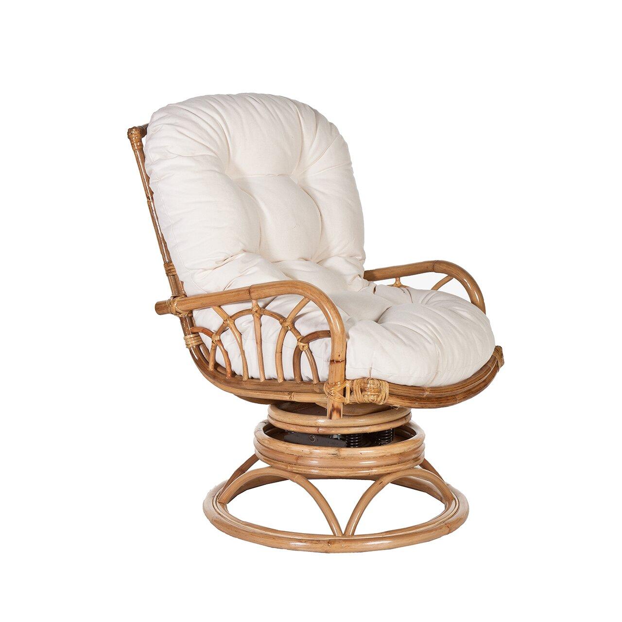 Acacia Home And Garden Tiki Rocking Chair Wayfair