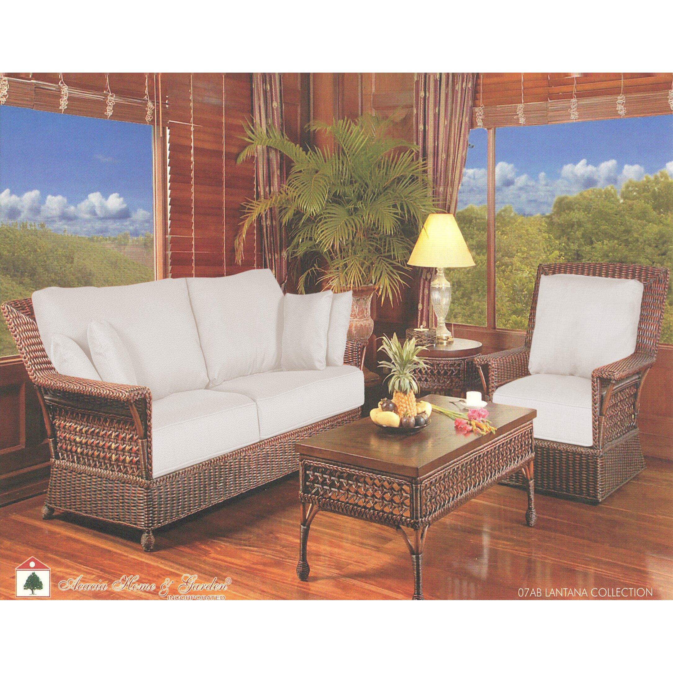 Acacia Home And Garden Lantana Lounge Chair Wayfair