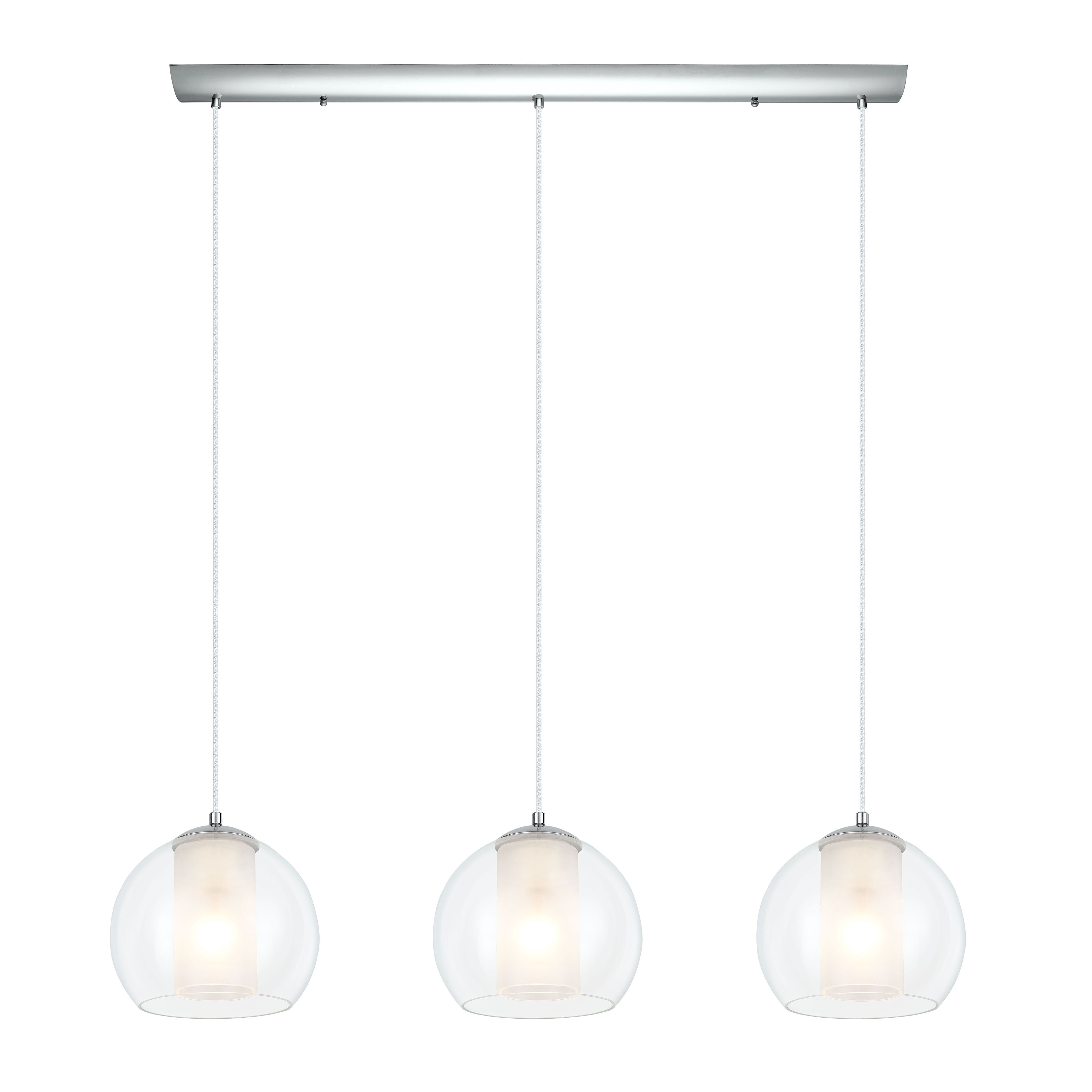 Kitchen Island Pendant Lighting: EGLO Bolsano 3 Light Kitchen Island Pendant & Reviews