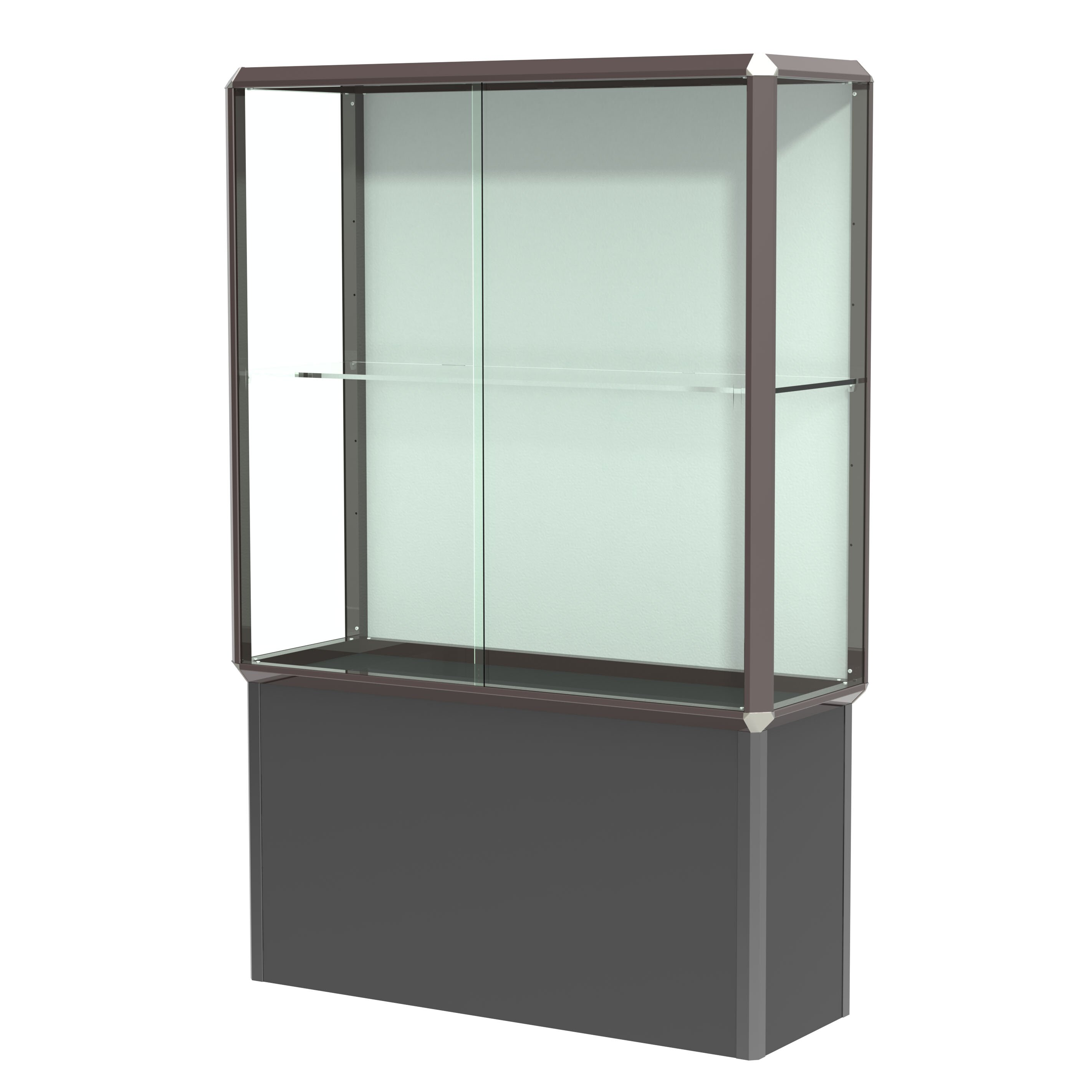 #547765 Waddell Prominence Spotlight Series Tower Display Case  with 2844x2844 px of Brand New Glass Display Cabinet Tower 28442844 pic @ avoidforclosure.info