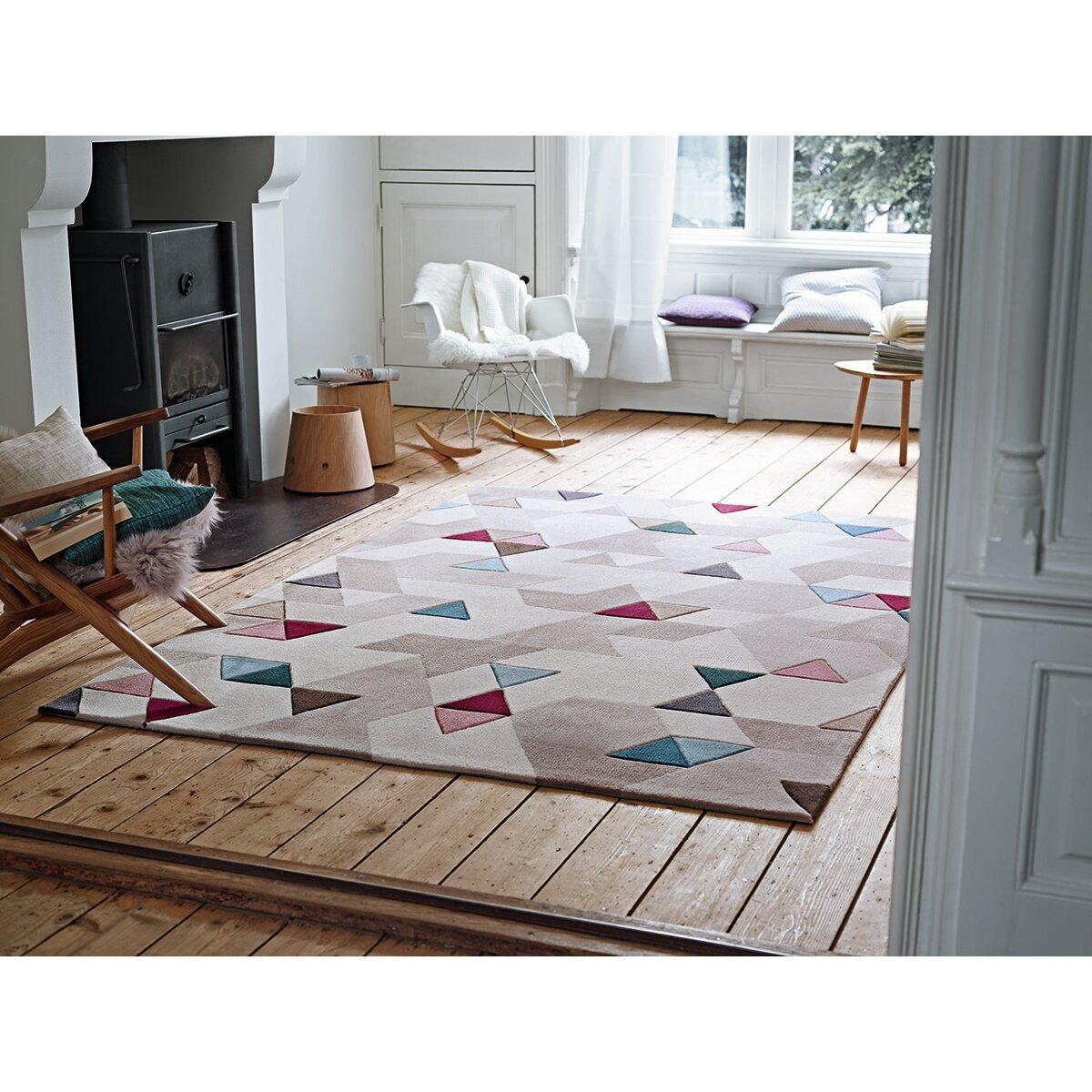 esprit hand tufted ivory area rug reviews wayfair uk. Black Bedroom Furniture Sets. Home Design Ideas