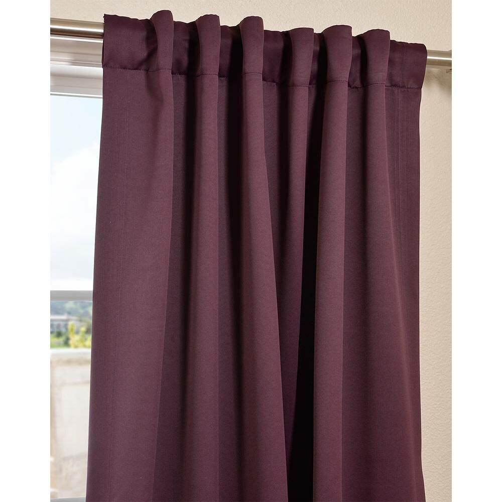Halfpriced Drapes: Half Price Drapes Plush Blackout Curtain Panel Pair