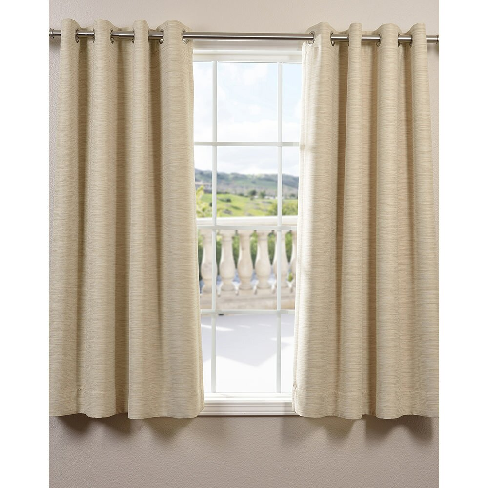 Halfpriced Drapes: Half Price Drapes Bellino Grommet Blackout Single Curtain