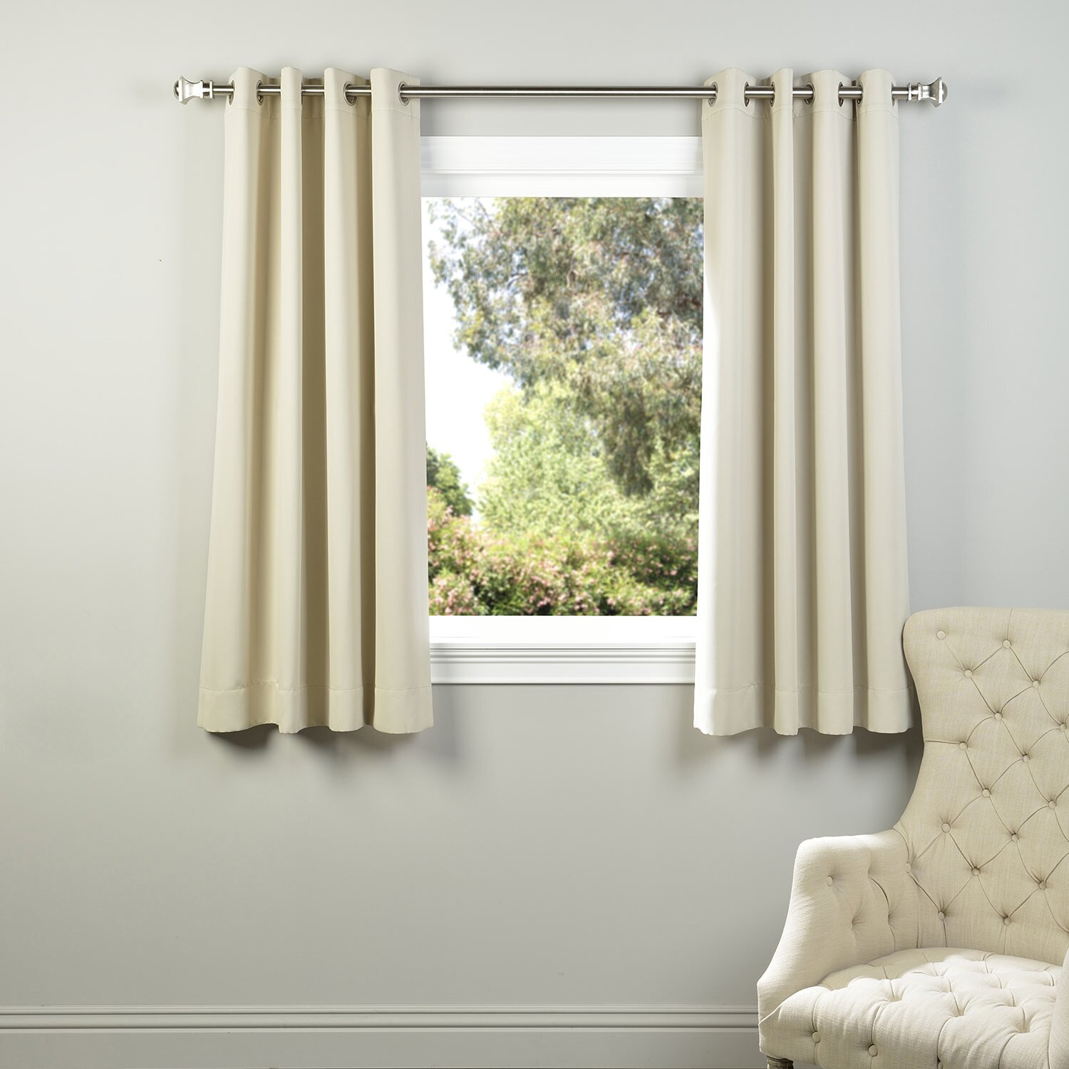 Half price drapes plush grommet blackout thermal curtain for Thermal windows prices