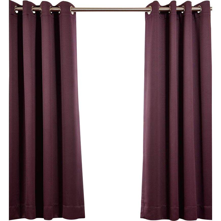 Half Price Drapes Plush Grommet Blackout Curtain Panels