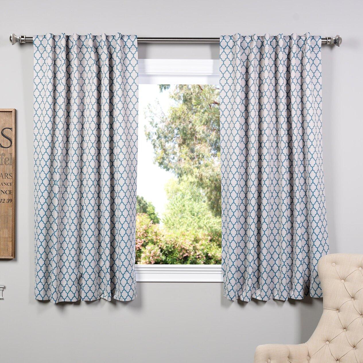 Halfpriced Drapes: Half Price Drapes Blackout Single Curtain Panel & Reviews