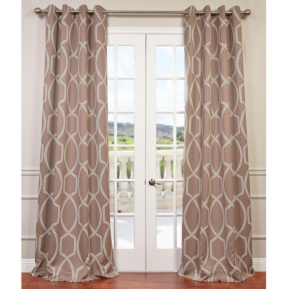 Halfpriced Drapes: Half Price Drapes Lisbon Single Curtain Panel & Reviews
