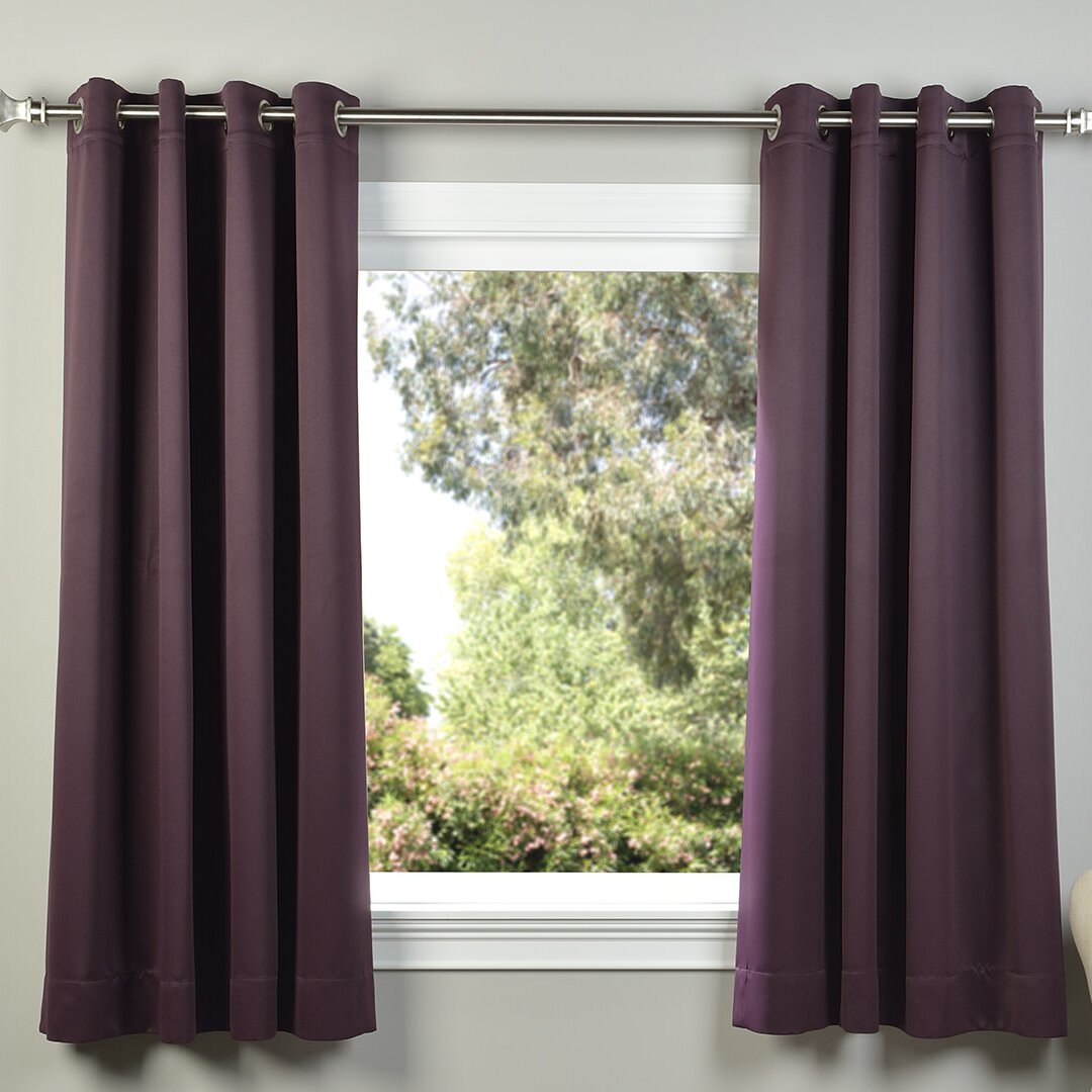 Half Price Drapes Plush Grommet Blackout Thermal Curtain