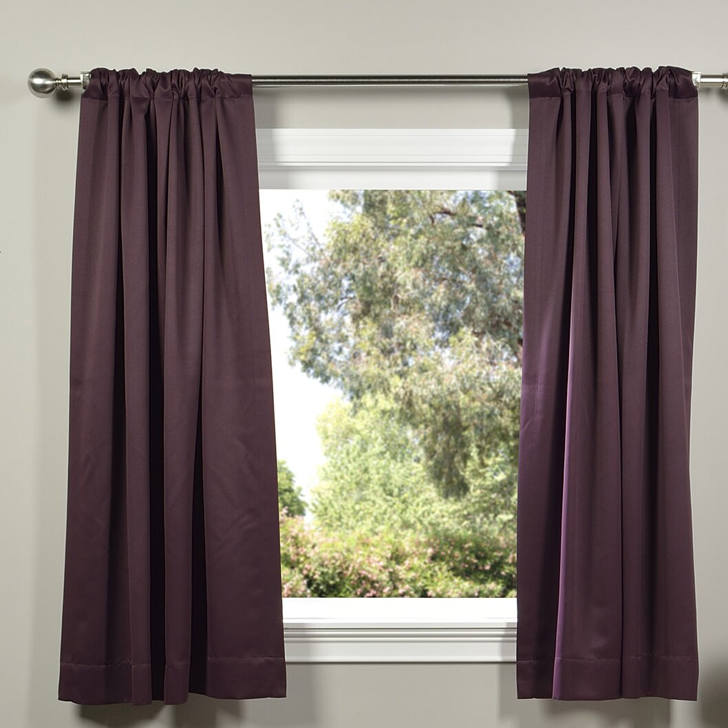 Half Price Drapes Plush Thermal Blackout Curtain Panels