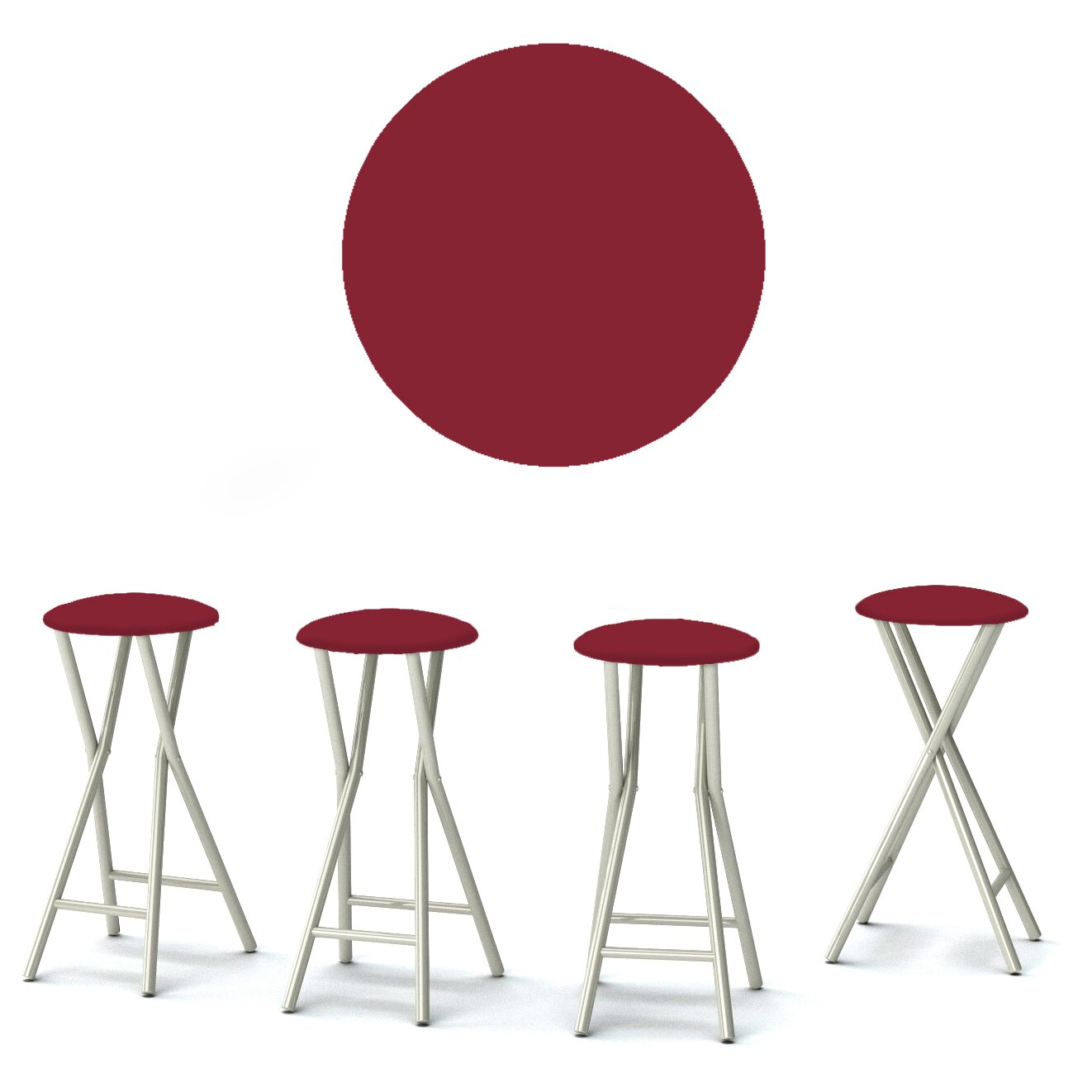 Best Of Times 30 Quot Bar Stool With Cushion Amp Reviews Wayfair