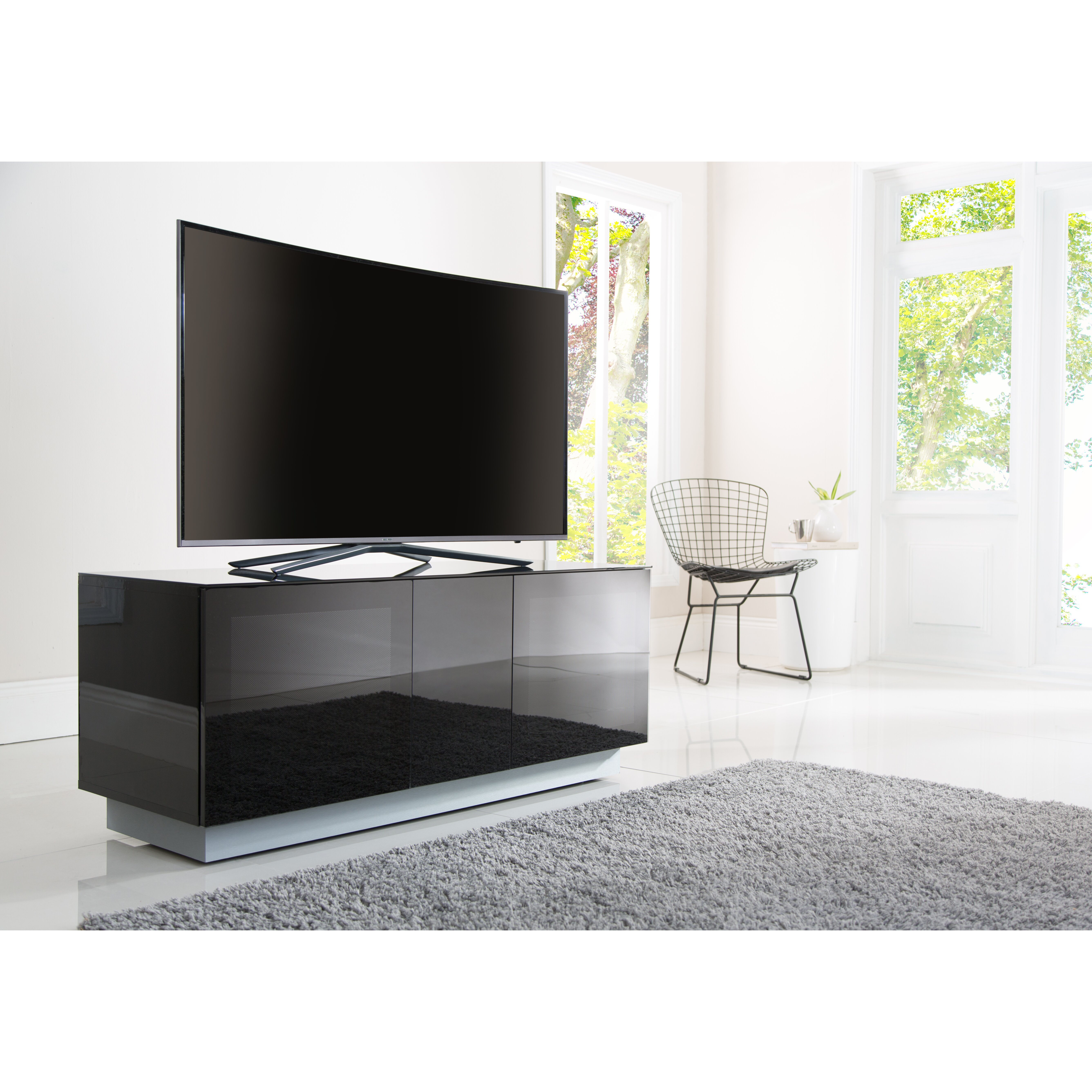 Alphason Design First TV Stand For TVs Up To 152 4 Cm