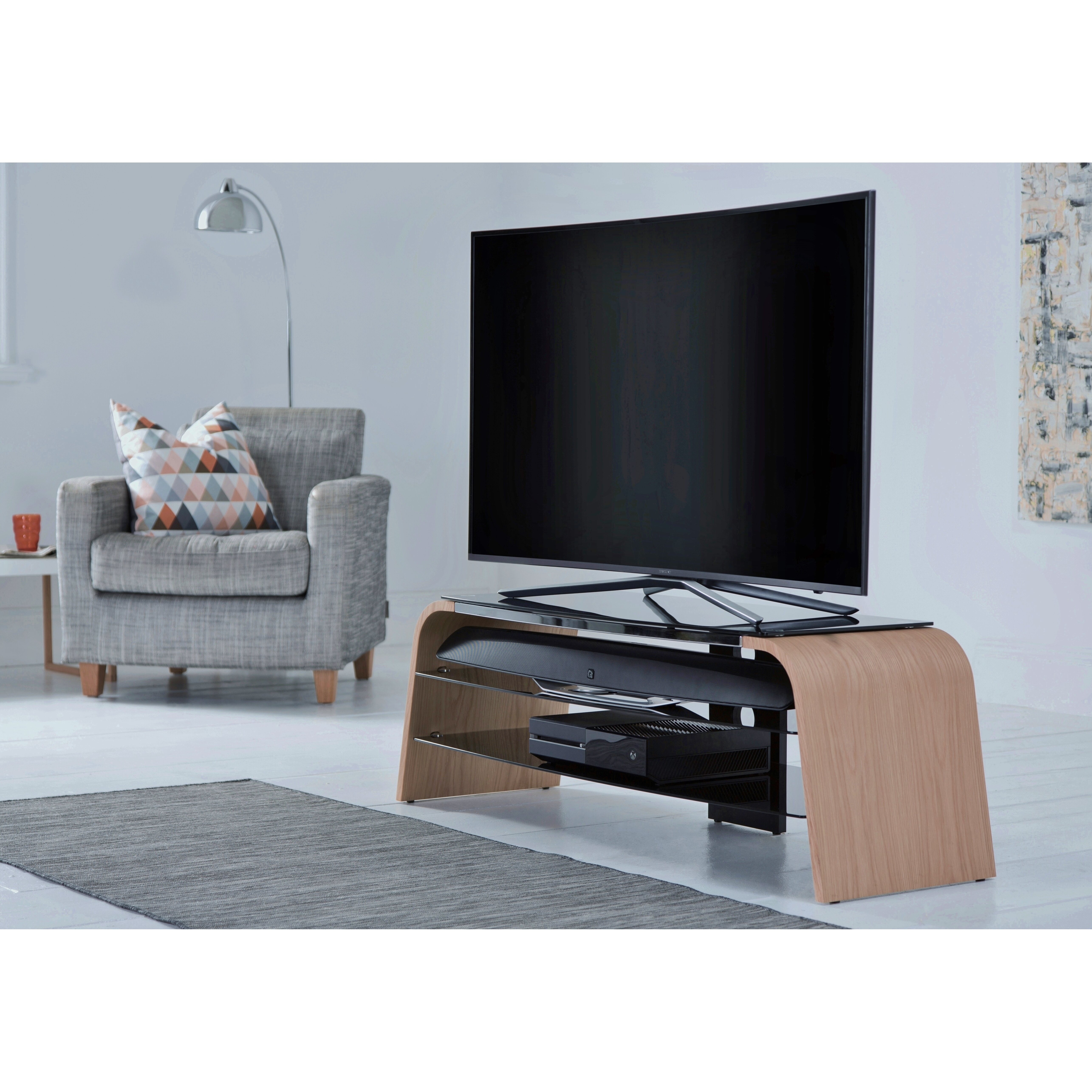 Alphason Design First Spectrum 1400 TV Stand For TVs Up To
