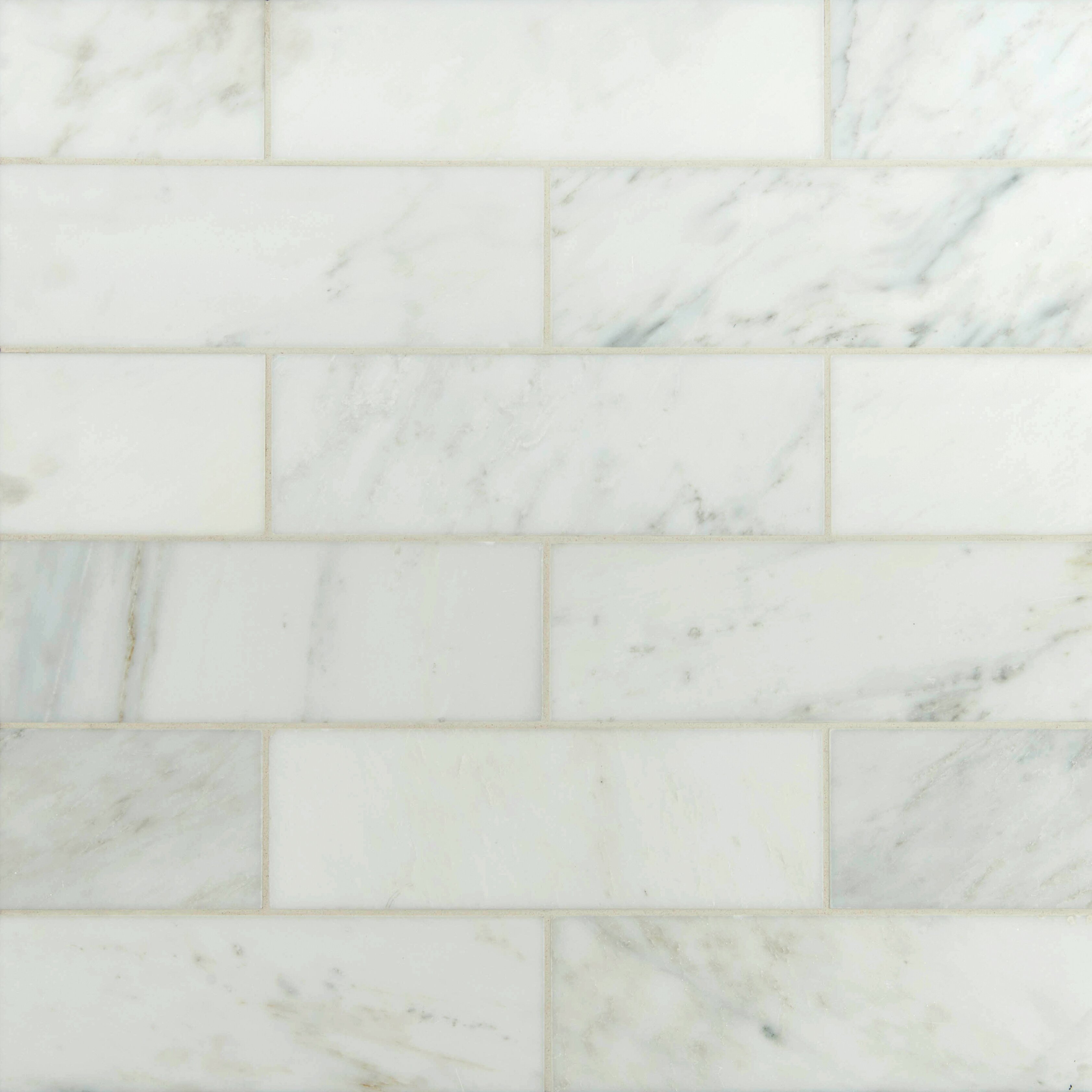 "White Marble Bathroom Tile: MSI 3"" X 6"" Polished Marble Tile In Carrara White"