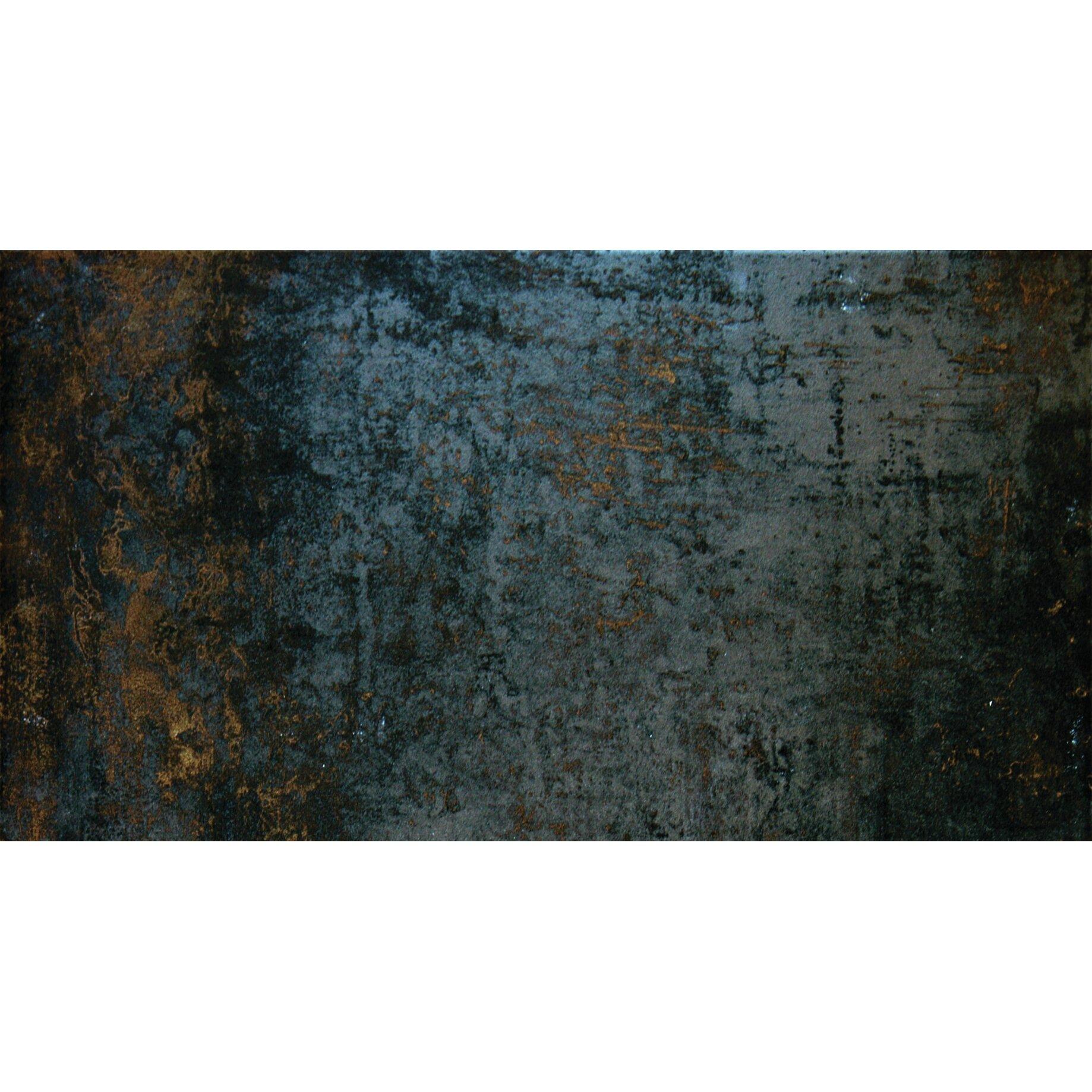 """Innerspring Or Foam Mattress MSI Nickel Antares 16"""" x 24"""" Porcelain Metal Tile in Brown ..."""