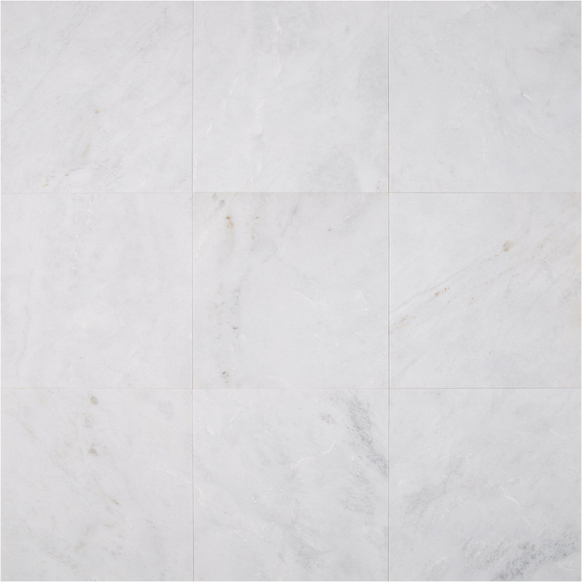 Arabescato Carrara Marble : Msi quot marble tile in arabescato carrara reviews