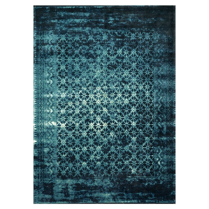 Wayfair All Modern: Loloi Rugs Journey Indigo Blue Area Rug & Reviews