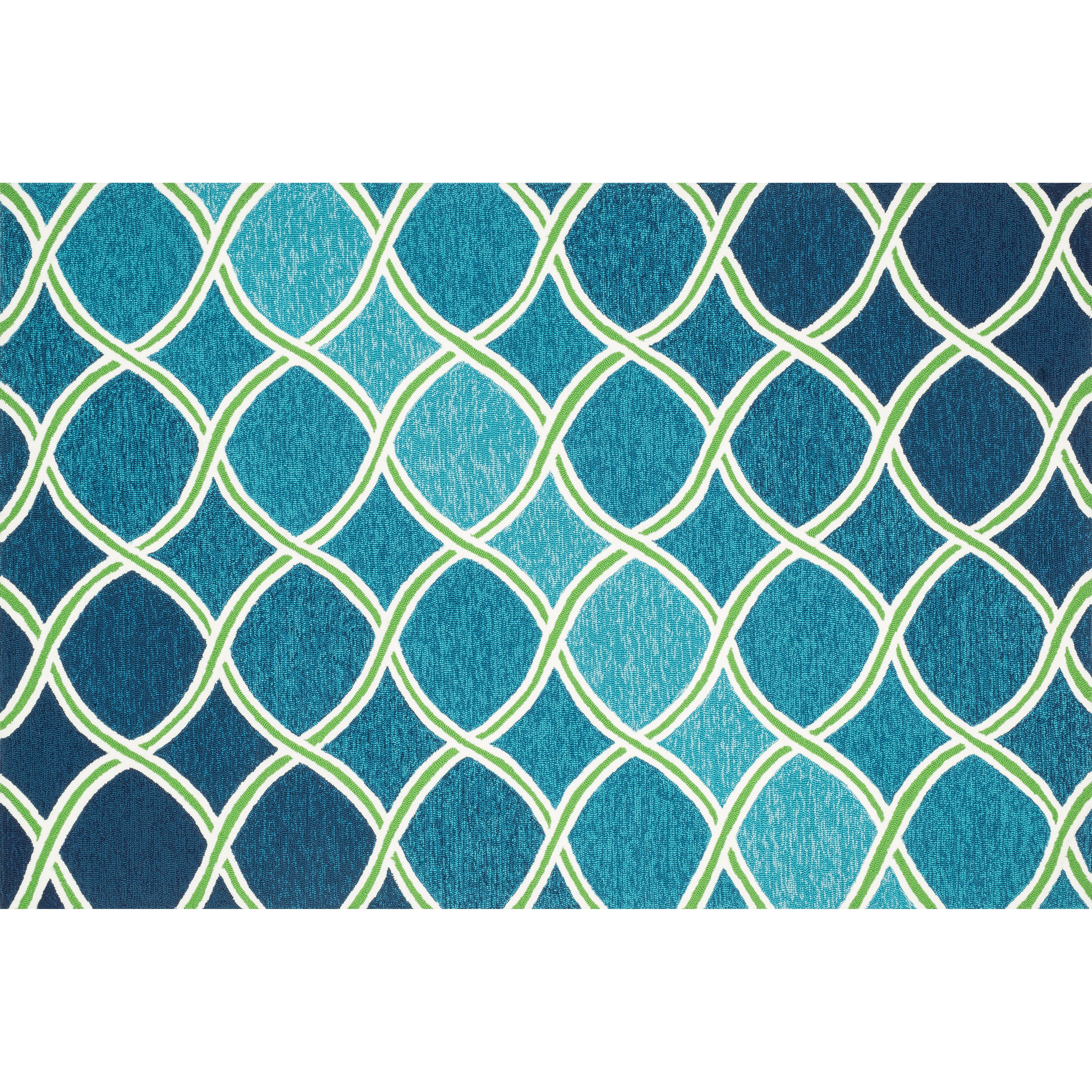 Loloi Rugs Venice Beach Blue/Green Rug & Reviews