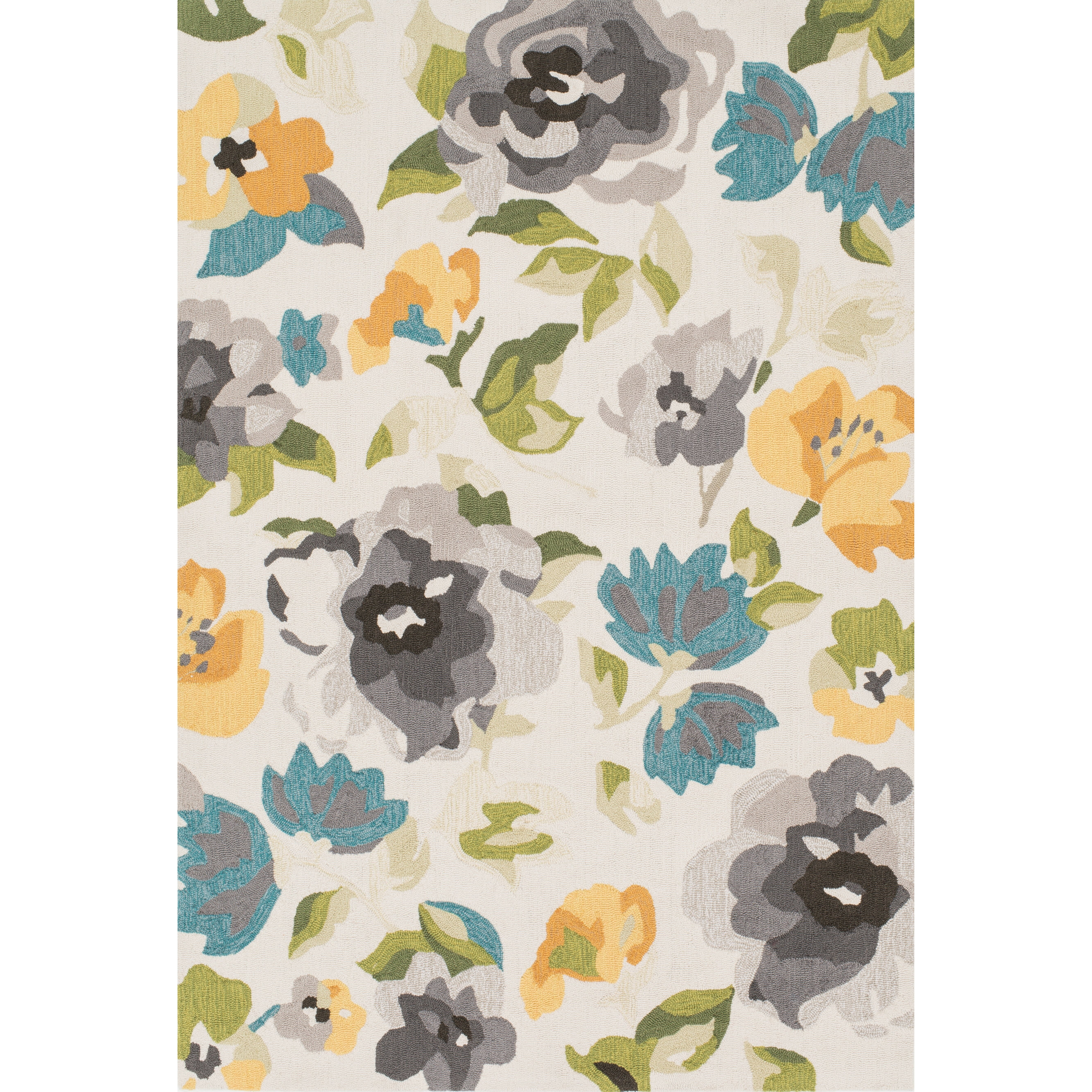 Loloi Rugs Francesca White Floral Area Rug Amp Reviews Wayfair