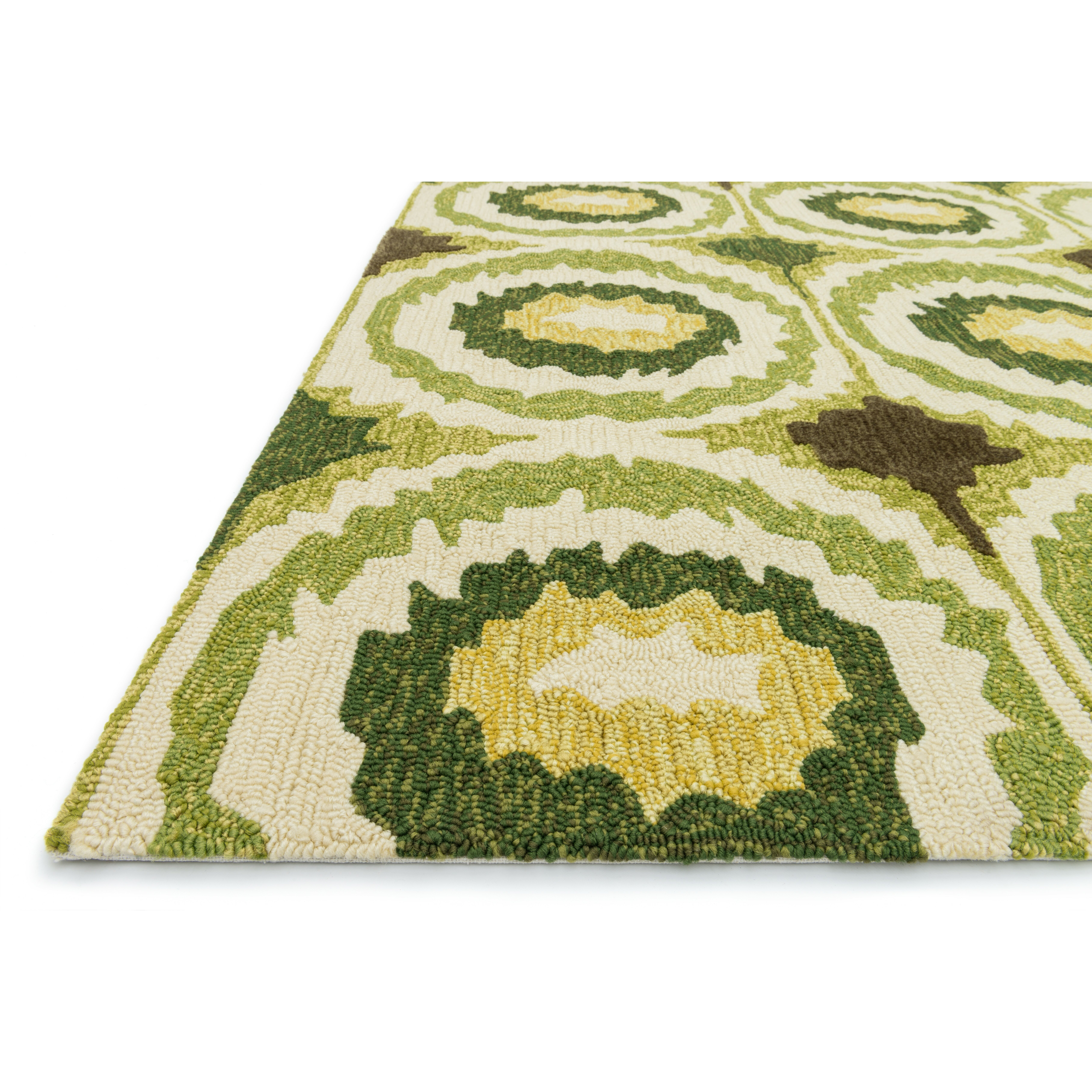 Loloi Rugs Enzo Lime Indoor Outdoor Area Rug