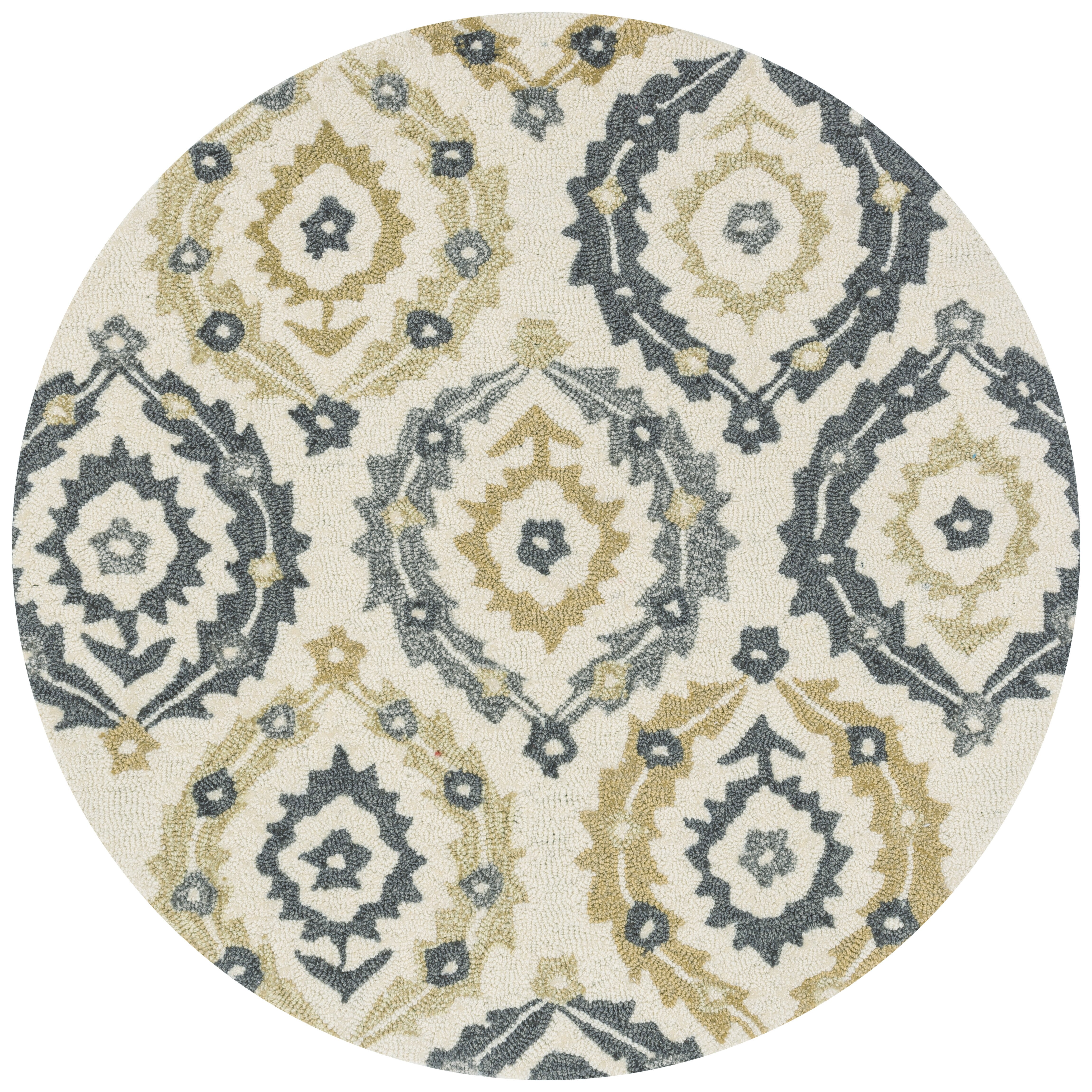 Loloi Rugs Francesca Ivory Amp Graphite Floral Area Rug