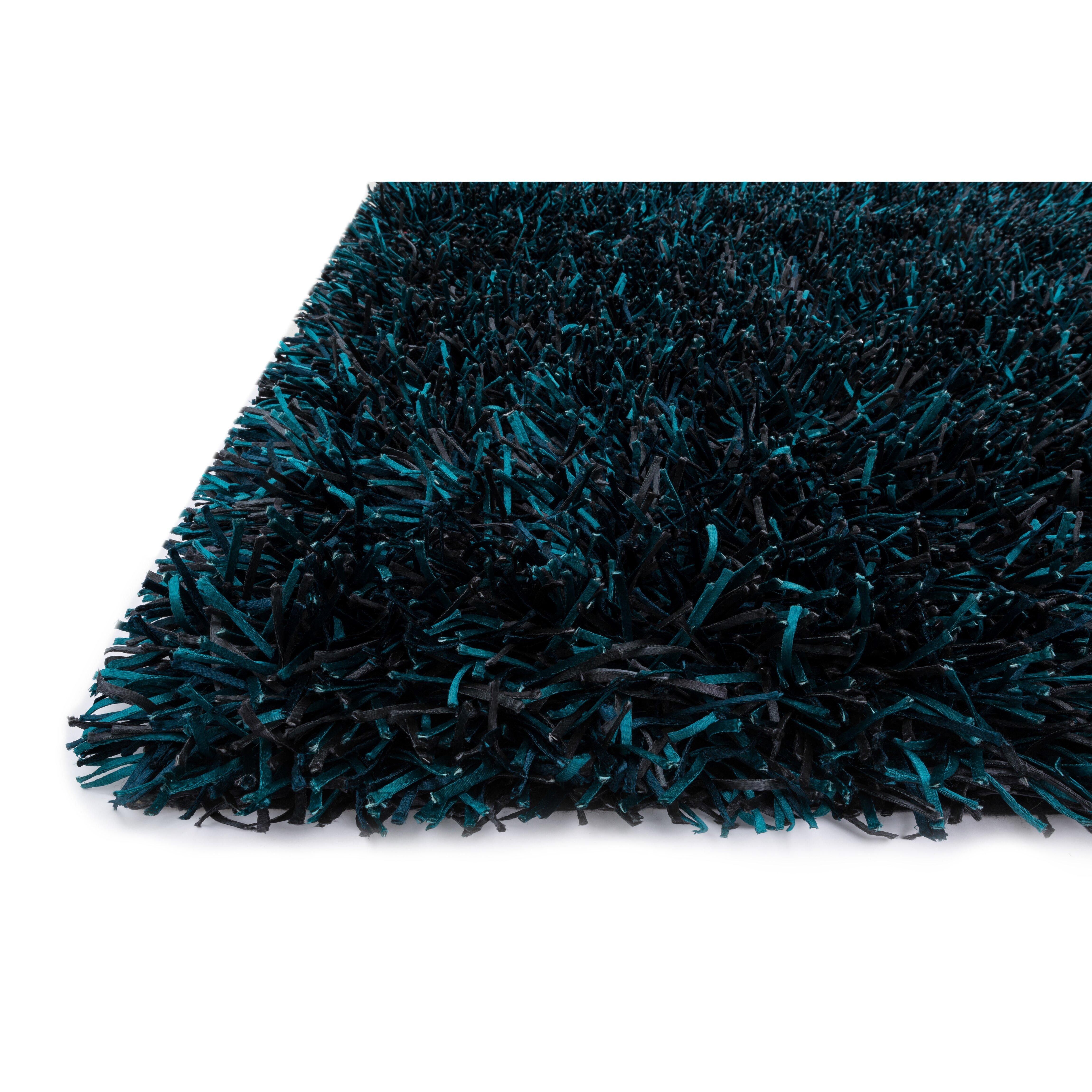 Peacock bathroom rug