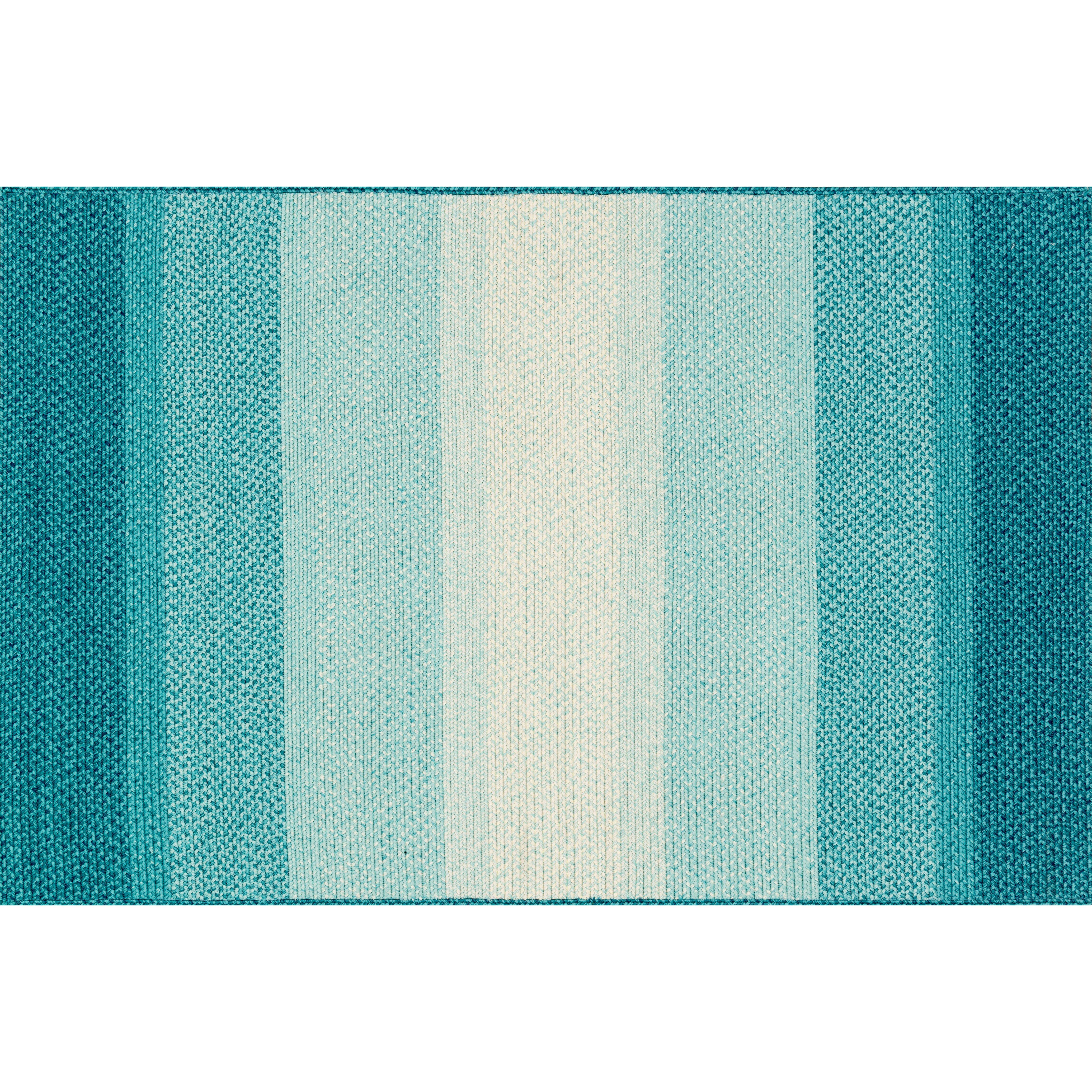 Loloi rugs garrett blue indoor outdoor area rug reviews for Blue indoor outdoor rug