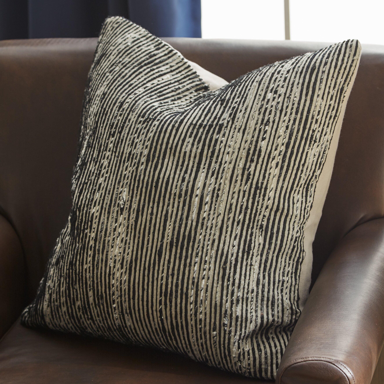 Loloi rugs strip throw pillow reviews wayfair for Loloi pillows