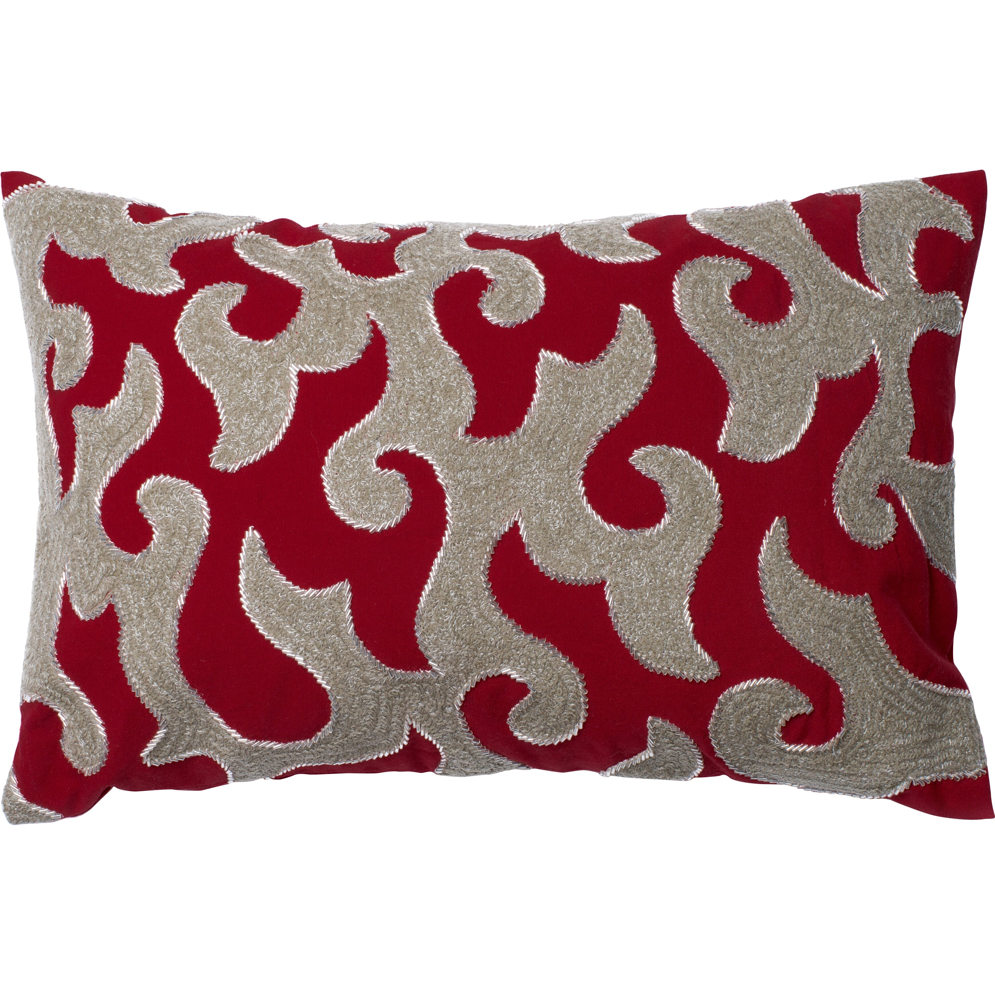 Loloi rugs cotton lumbar pillow reviews wayfair for Loloi pillows