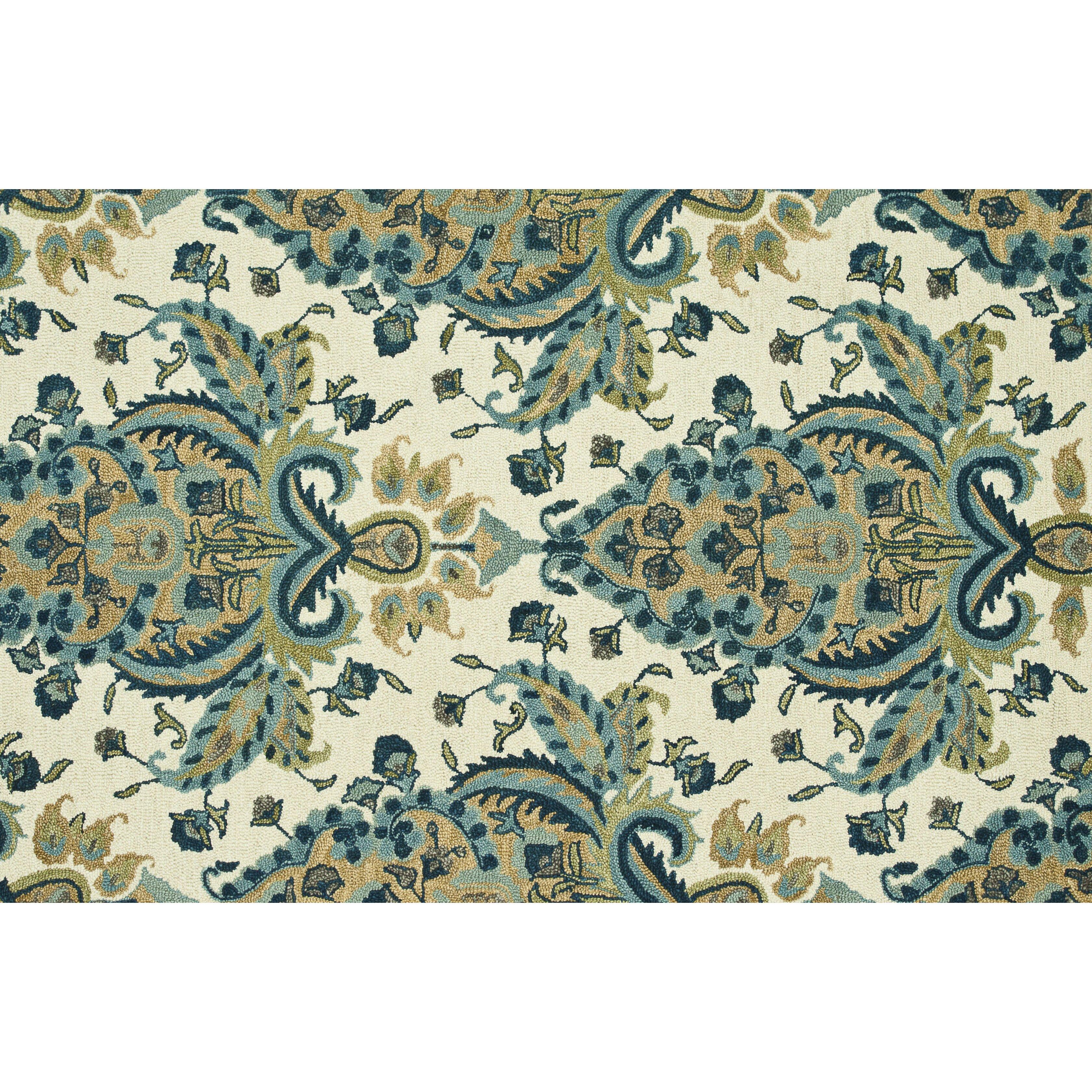 loloi rugs taylor blue gold rug reviews wayfair. Black Bedroom Furniture Sets. Home Design Ideas