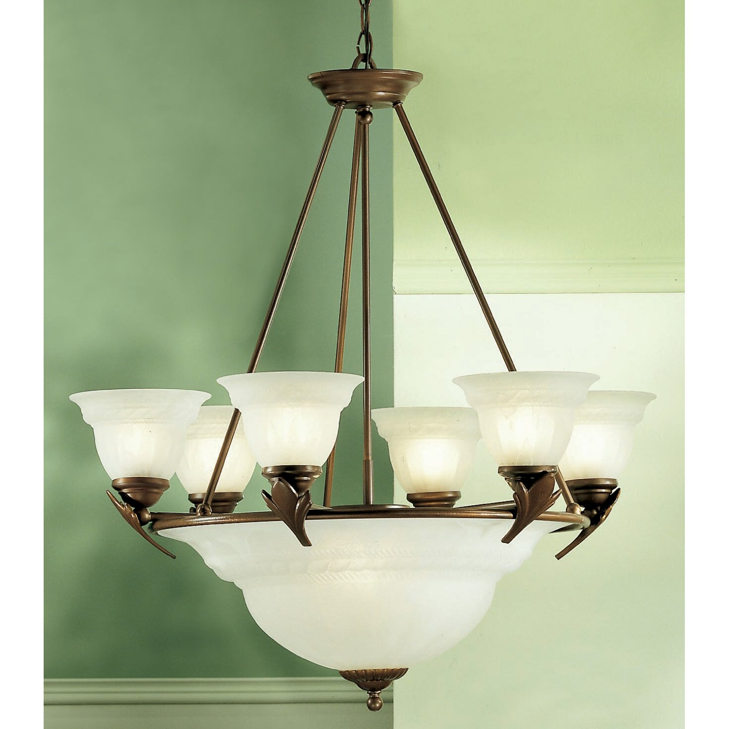 Wayfair Chandelier: Classic Lighting Roma 9 Light Chandelier