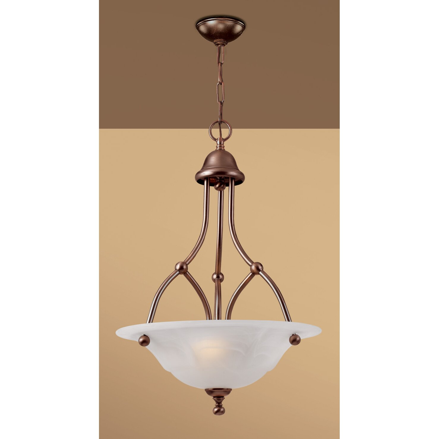 Wayfair Chandelier: Classic Lighting Providence 3 Light Chandelier