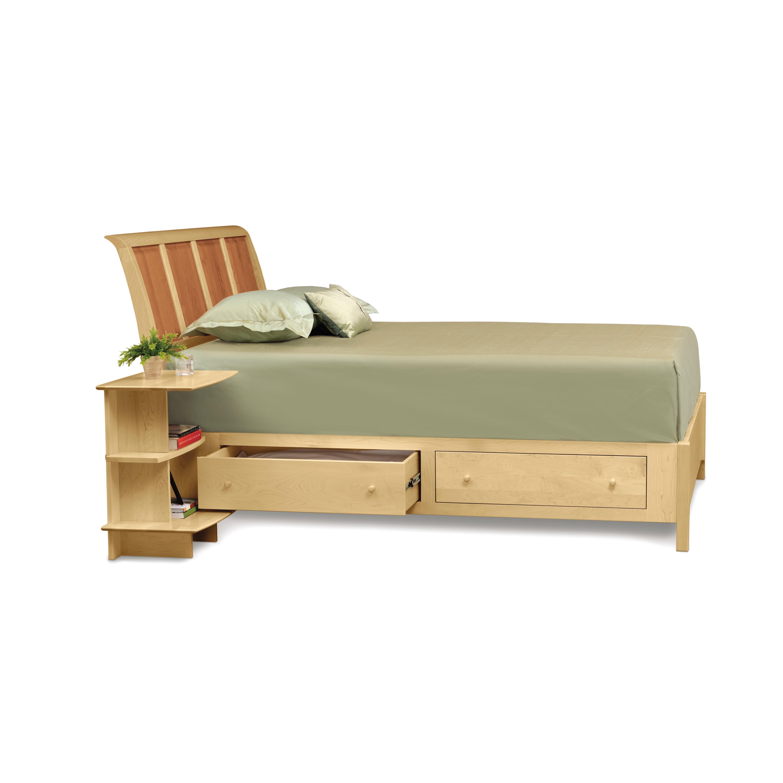 Copeland Furniture Sarah Platform Customizable Bedroom Set