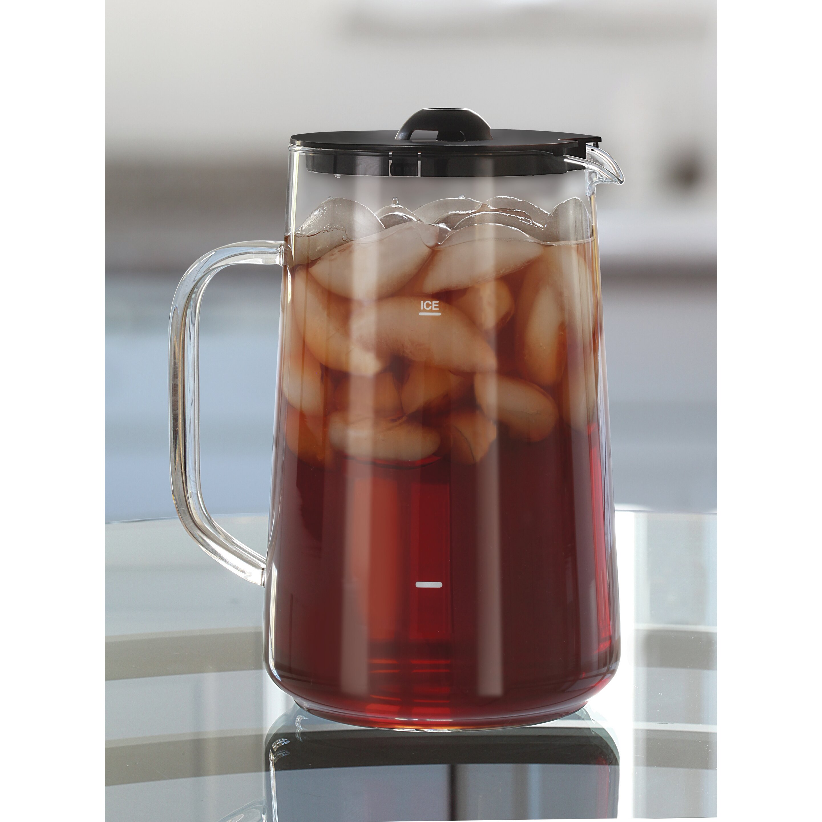 capresso 2 5 qt iced tea maker reviews wayfair. Black Bedroom Furniture Sets. Home Design Ideas