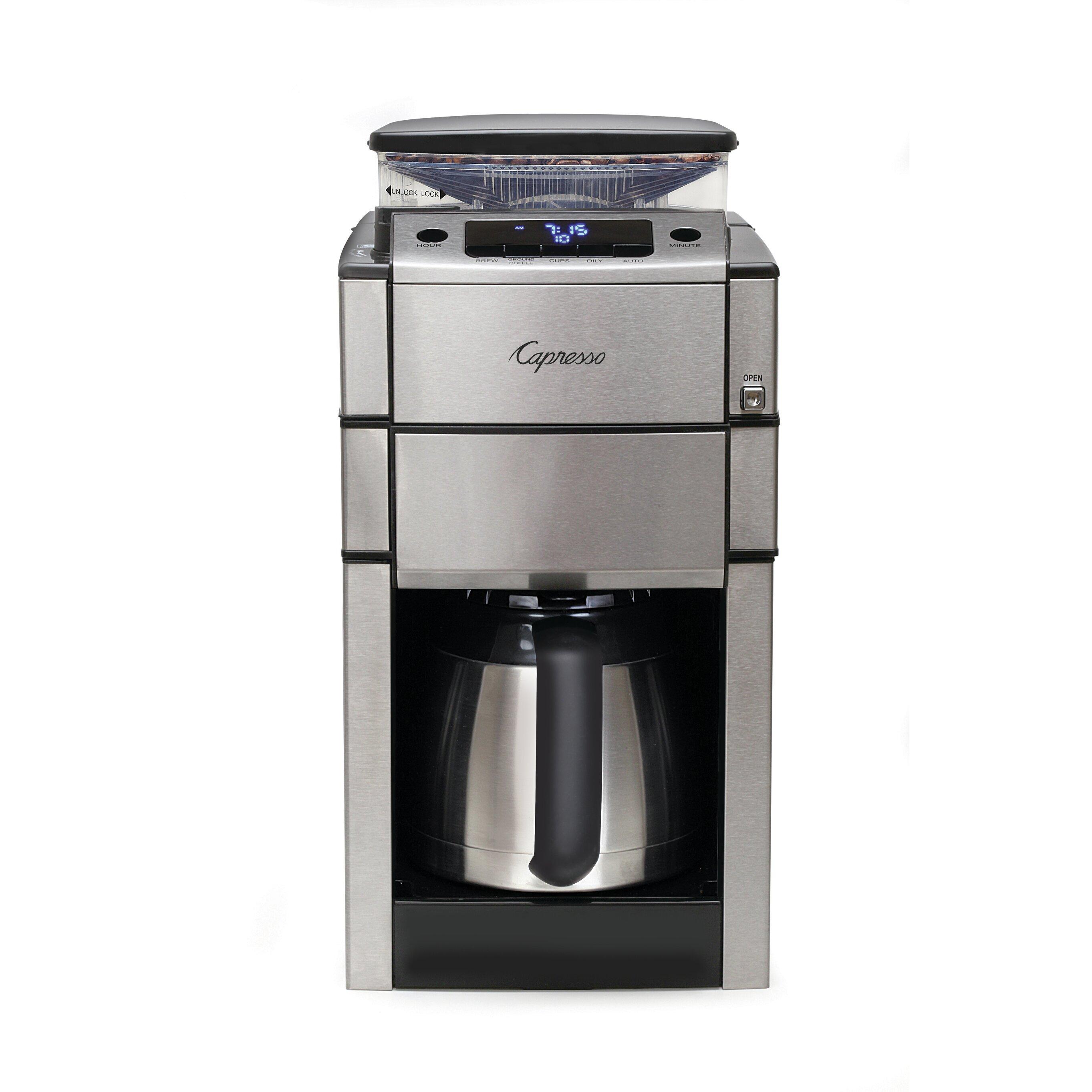 Capresso Coffee Team Pro Plus Coffee Maker & Reviews Wayfair