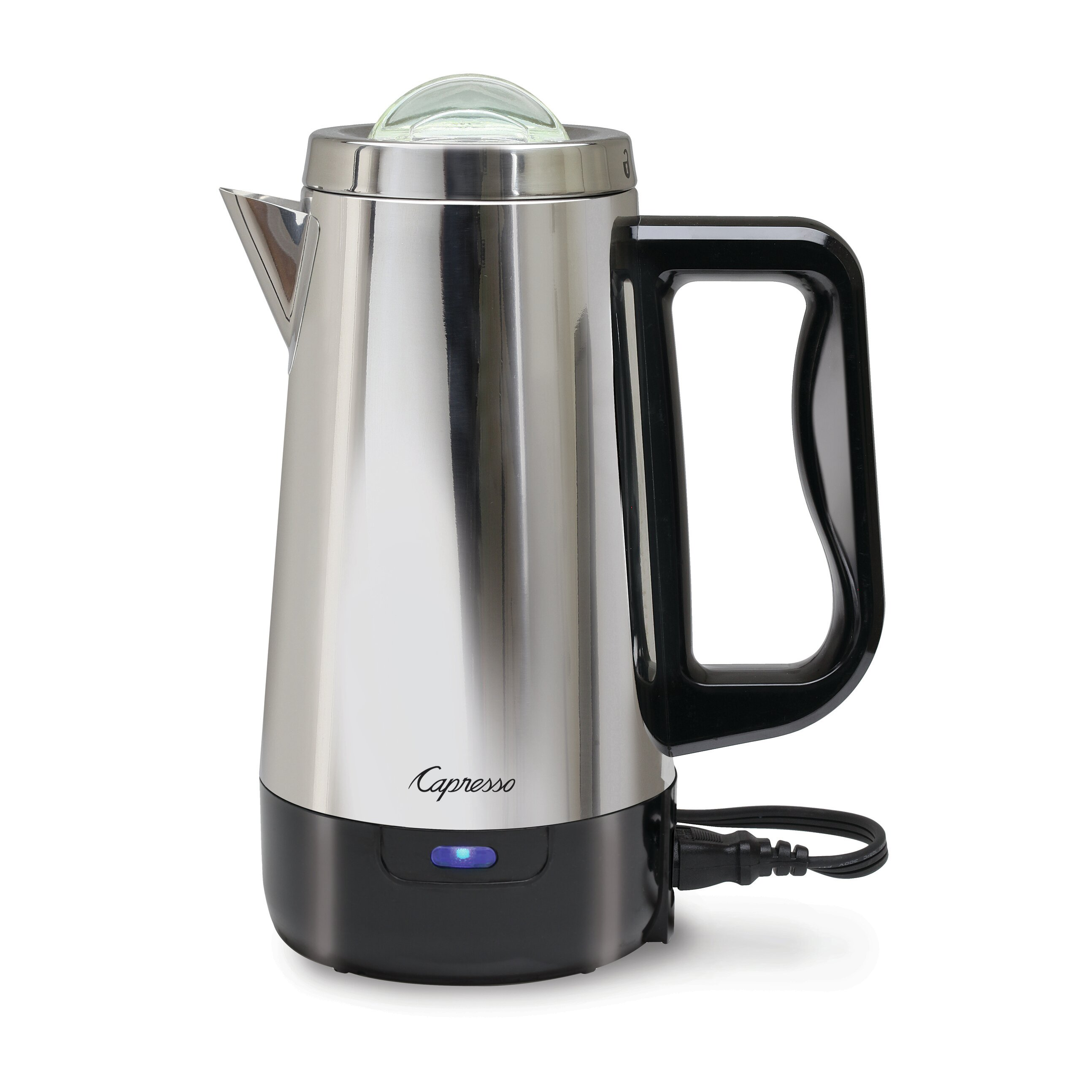 Coffee Maker With Percolator : Capresso 8 Cup Perk Coffee Maker & Reviews Wayfair
