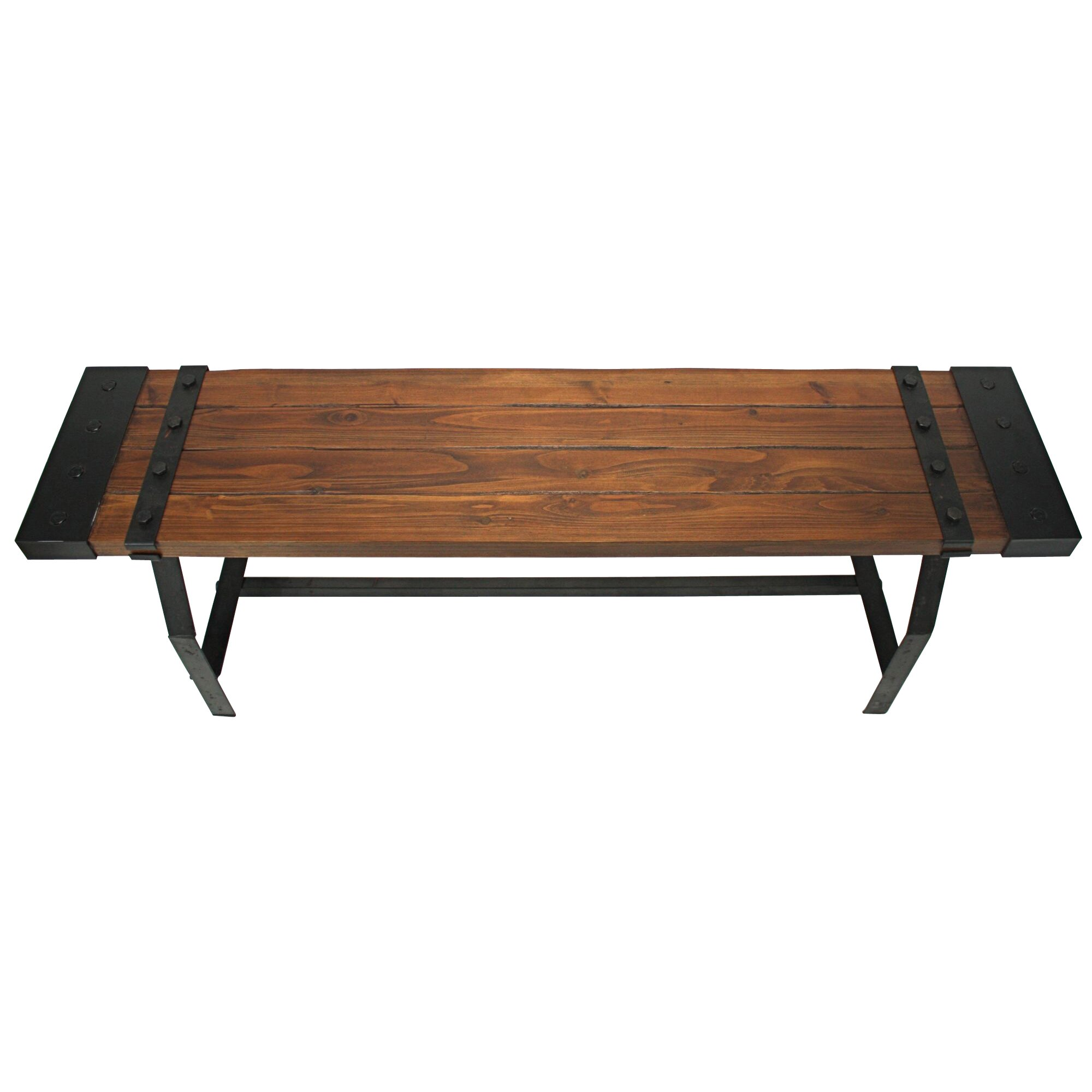 Aspire Elkhart Wood Entryway Bench Reviews Wayfair