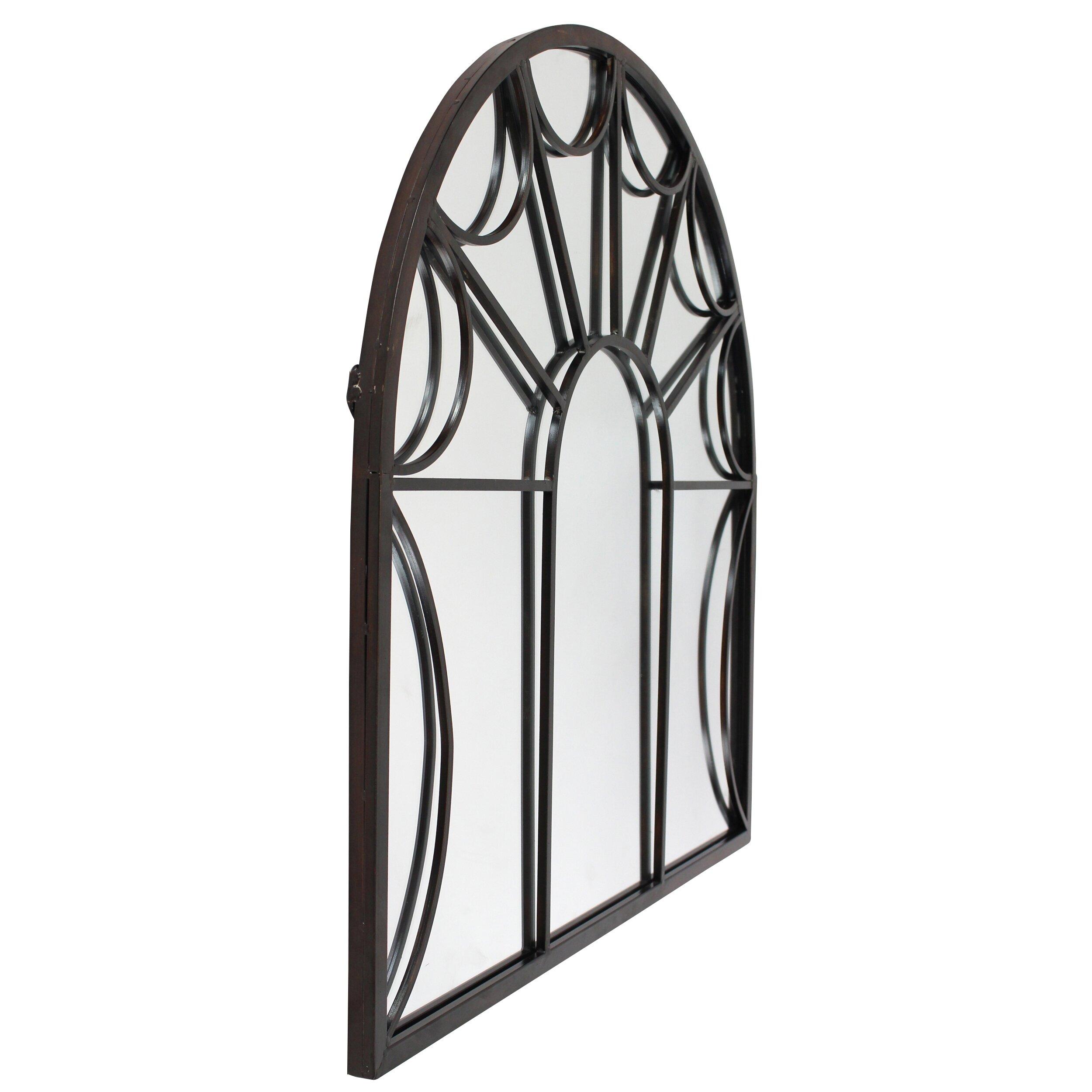 Aspire Carlita Arched Window Wall Mirror Amp Reviews Wayfair