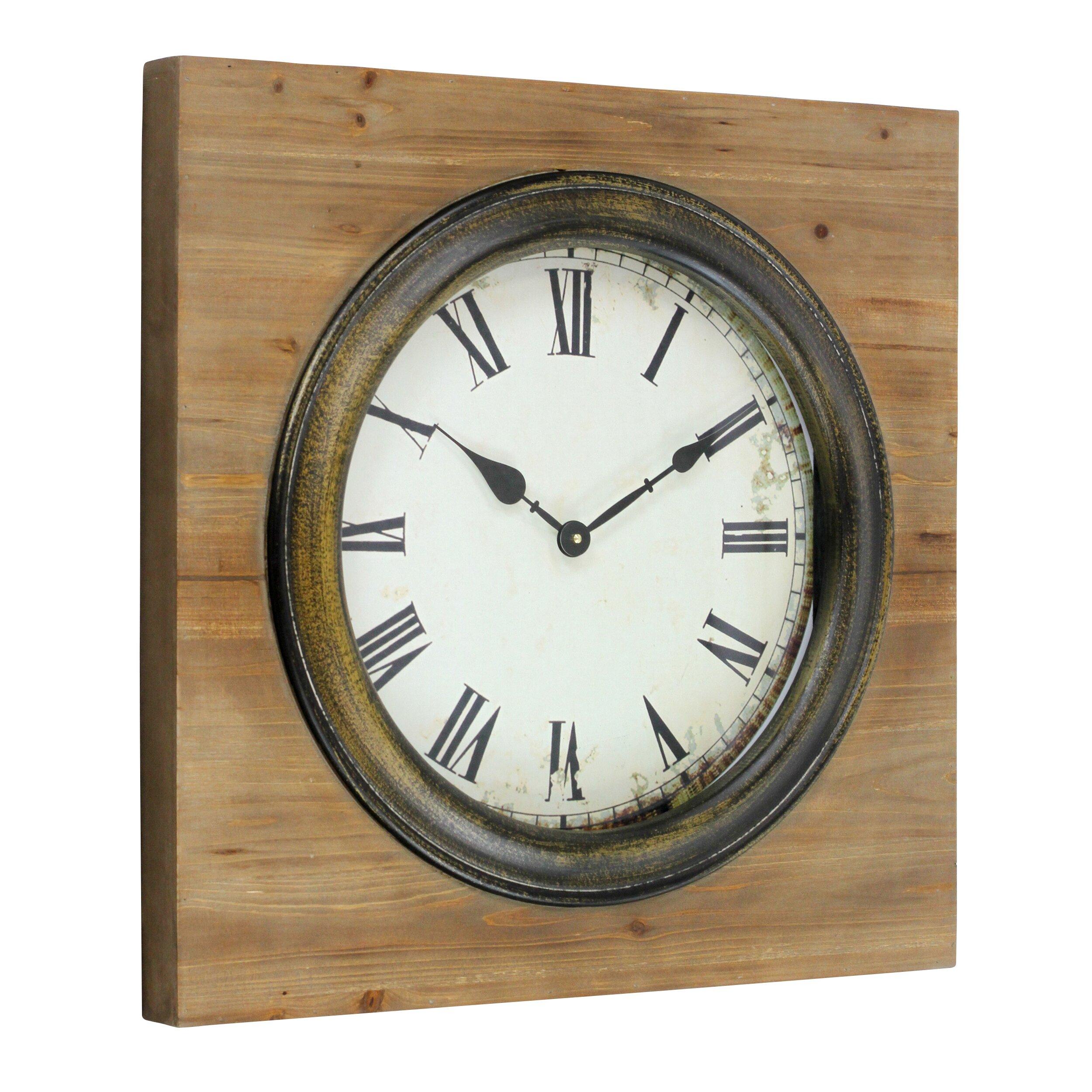 Aspire Epperton Square Wall Clock