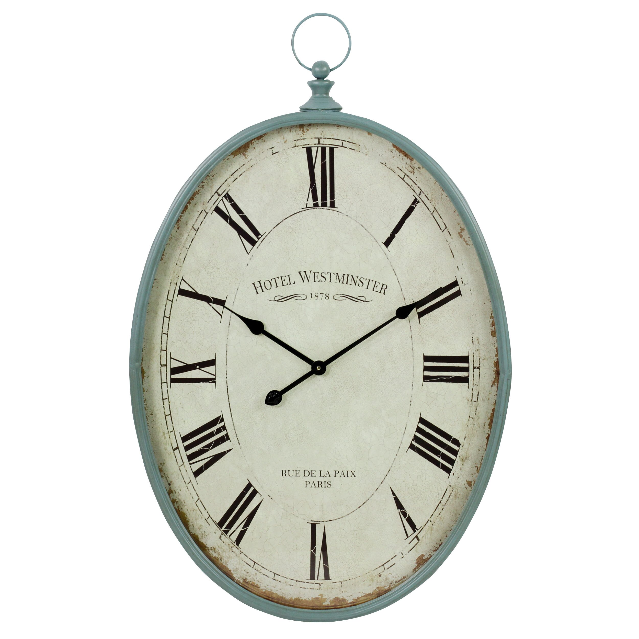 Aspire Sonia Oval Wall Clock | Wayfair.ca